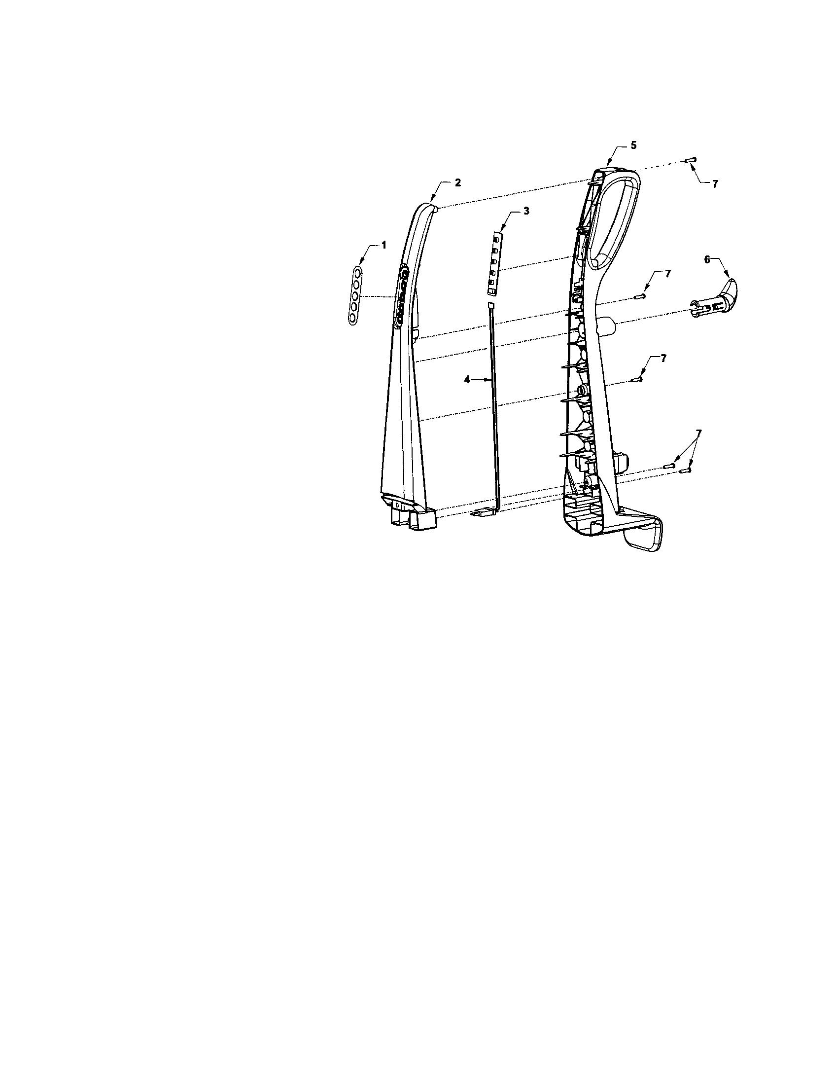 Kenmore model 11636933500 vacuum, upright genuine parts