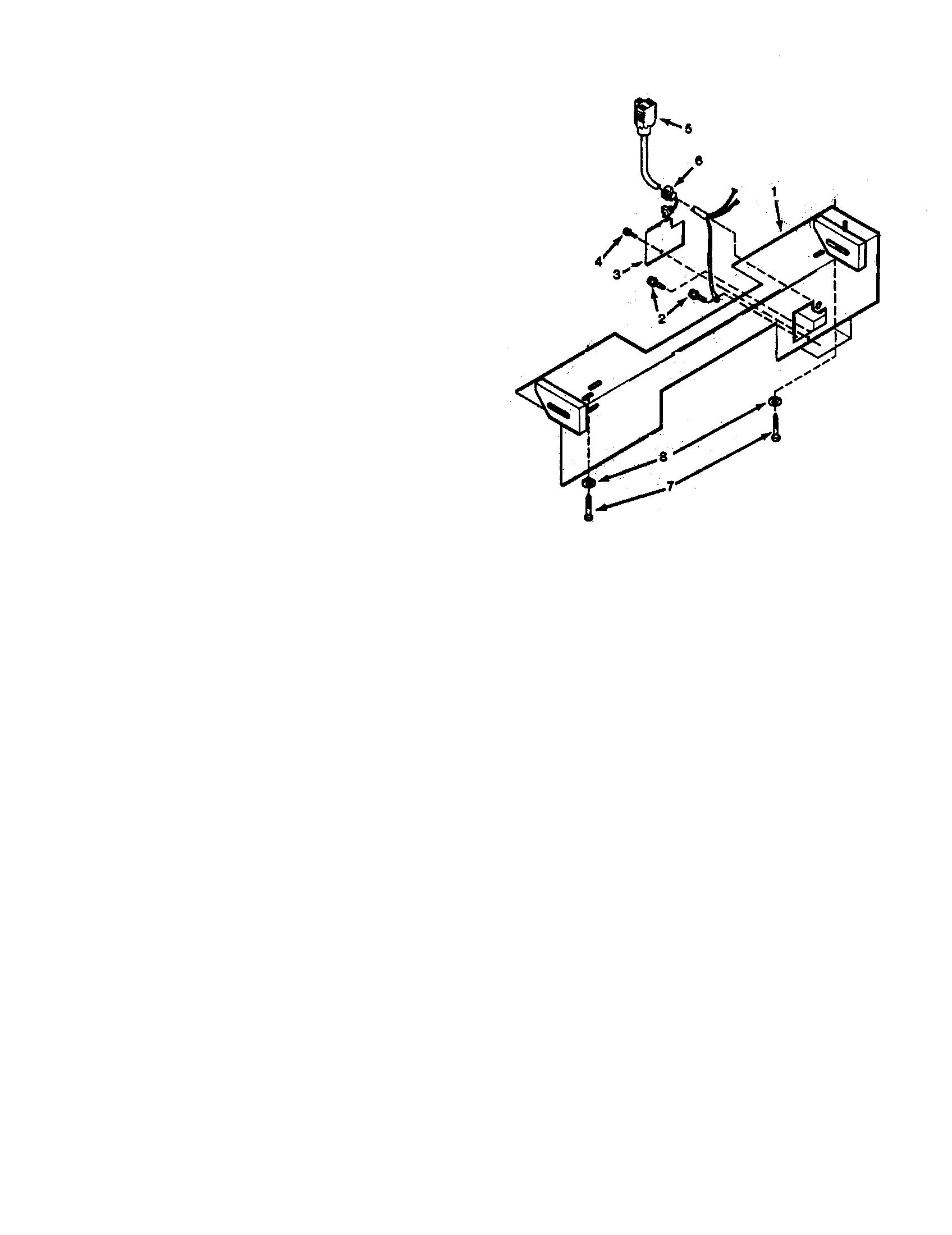 Kenmore model 23334204 range hood genuine parts