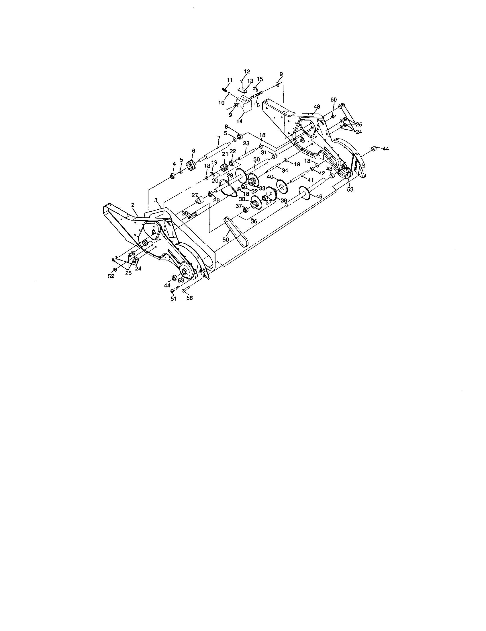 Craftsman model 917296020 rear tine, gas tiller genuine parts