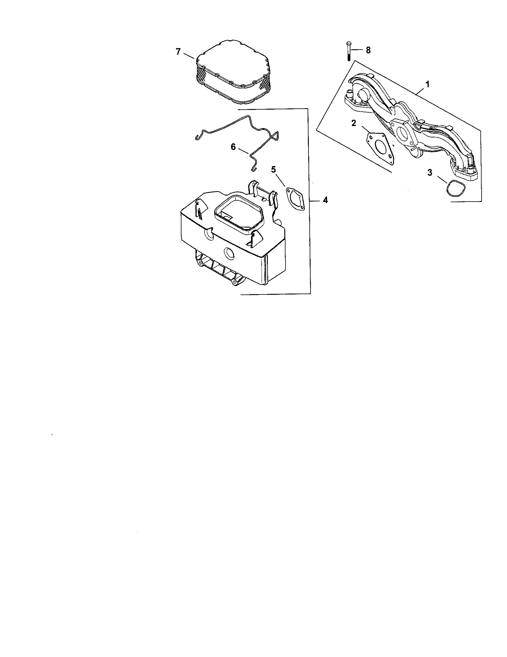 Kohler model SV735-0012 engine genuine parts