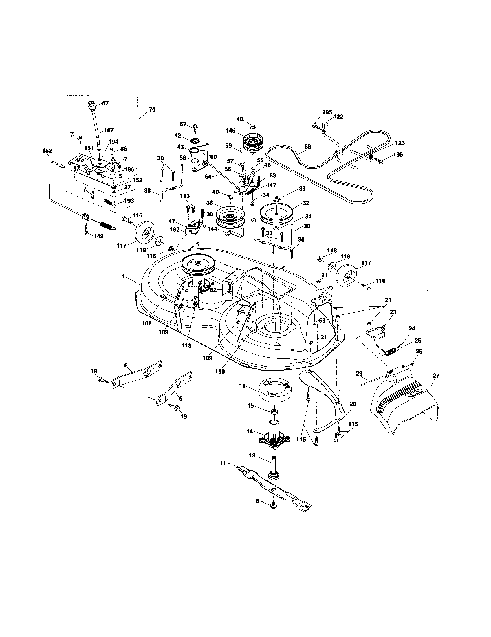 Poulan Pro Riding Mower Carburetor Diagram, Poulan, Free