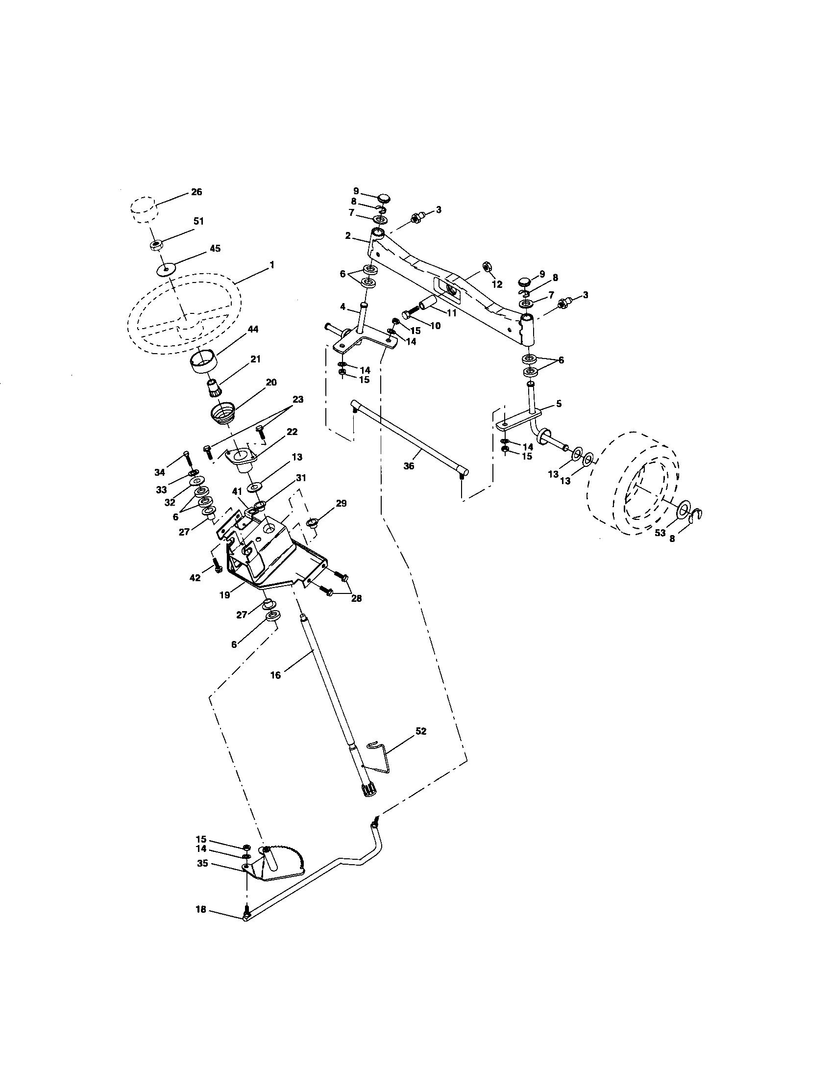 Wiring Diagram Database: Craftsman Gt5000 Belt Routing Diagram