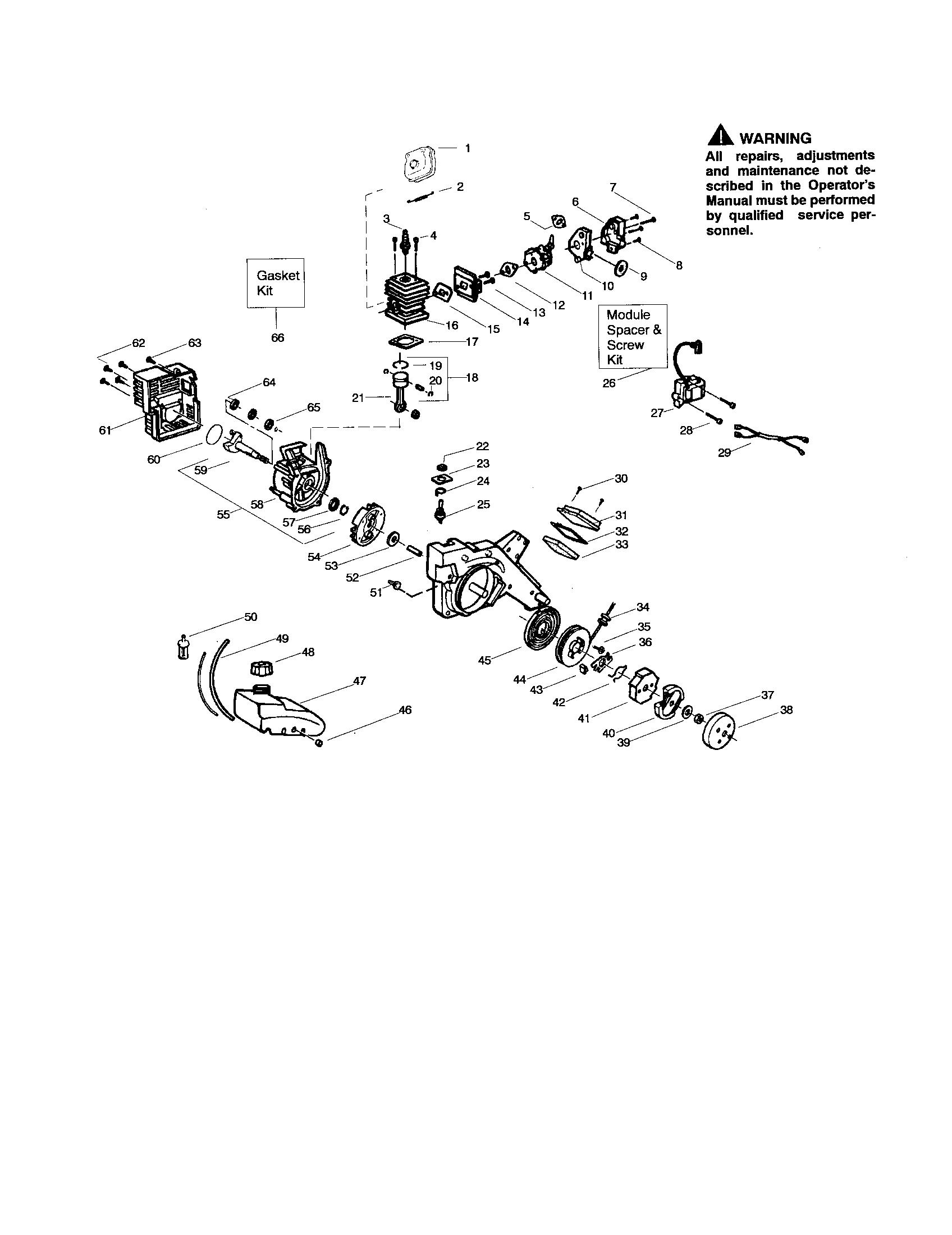 Craftsman Gas Blower Craftsman Leaf Blower Wiring Diagram