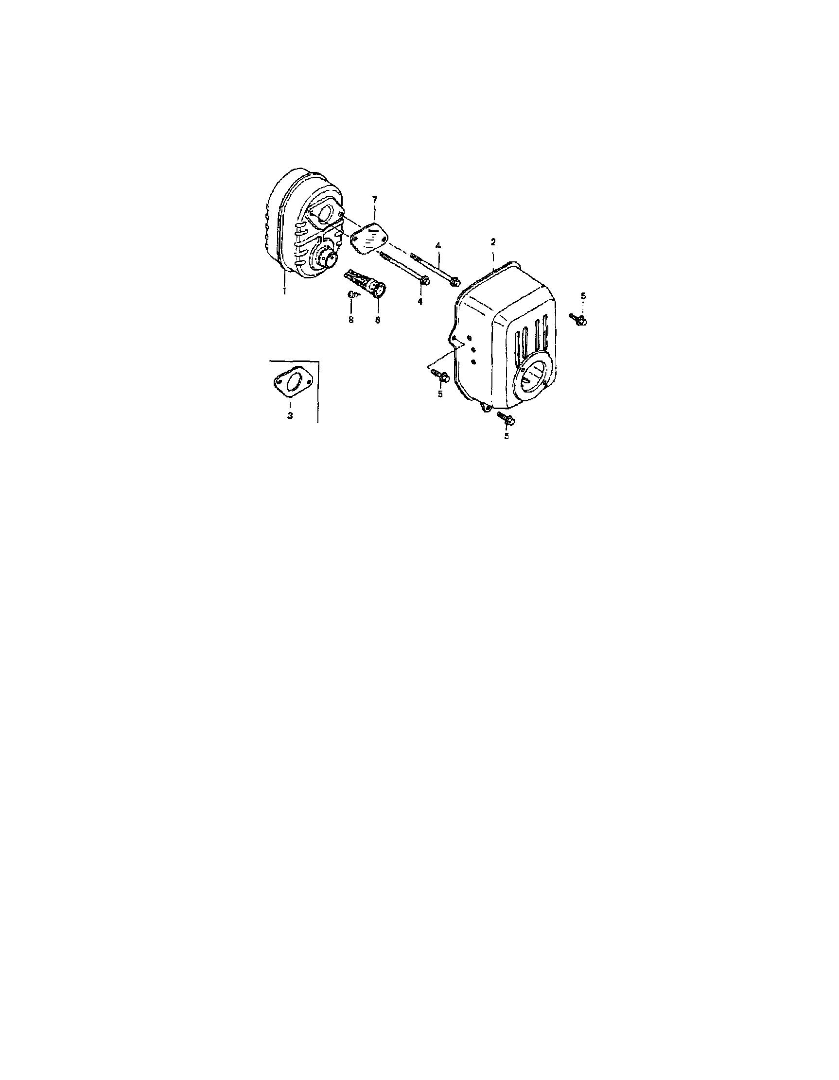 Honda model GCV160-LAS3A engine genuine parts