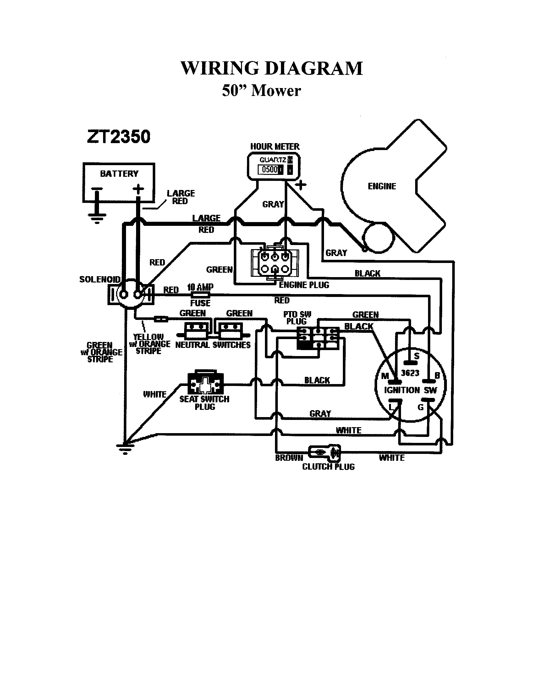 Swisher Mower Wiring Diagram Swisher 60 Trail Mower Wiring