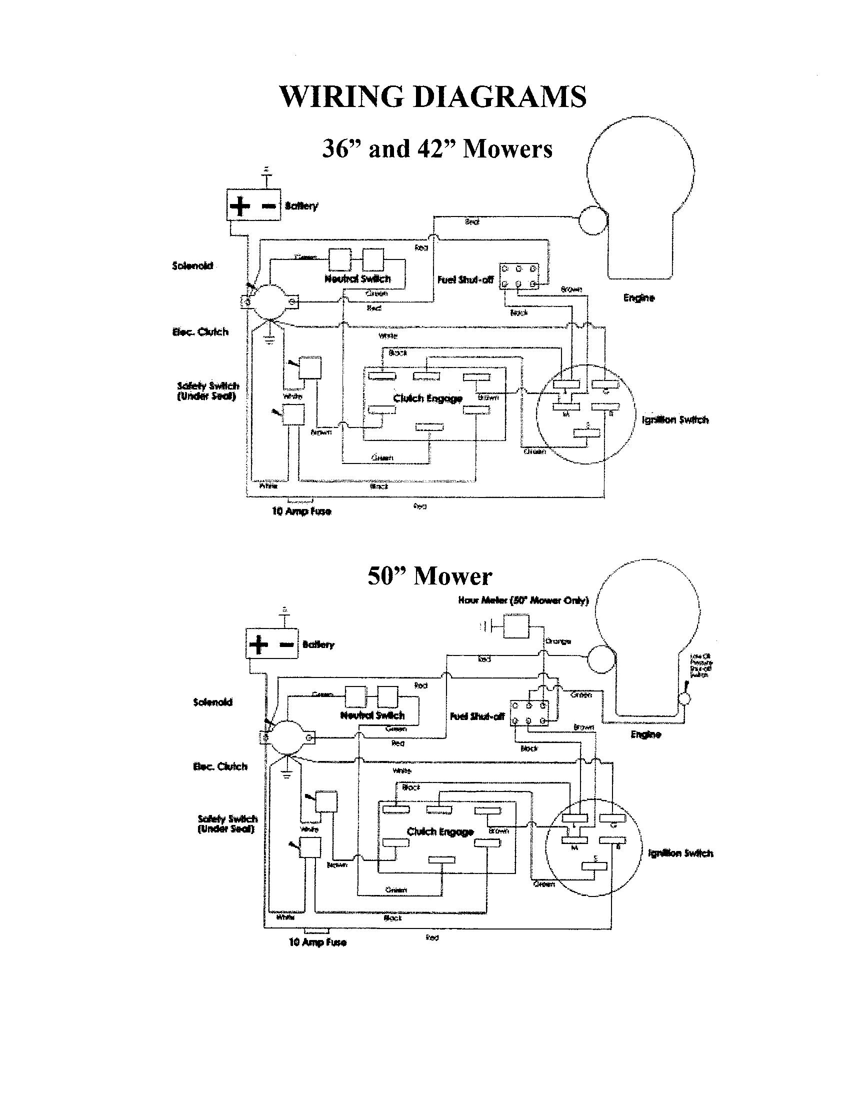 Swisher Mower Wiring Diagram. Wiring. Wiring Diagram Images