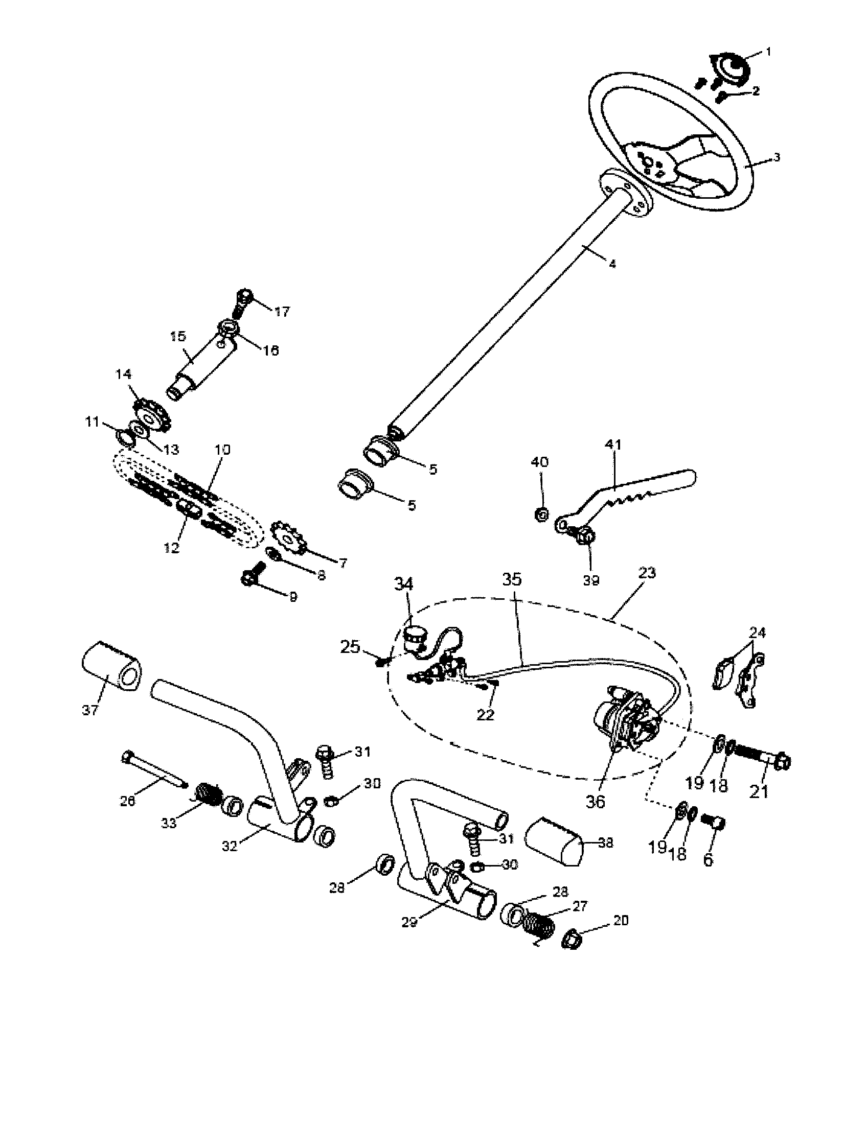 Manco model 6150 gokarts/minibikes genuine parts