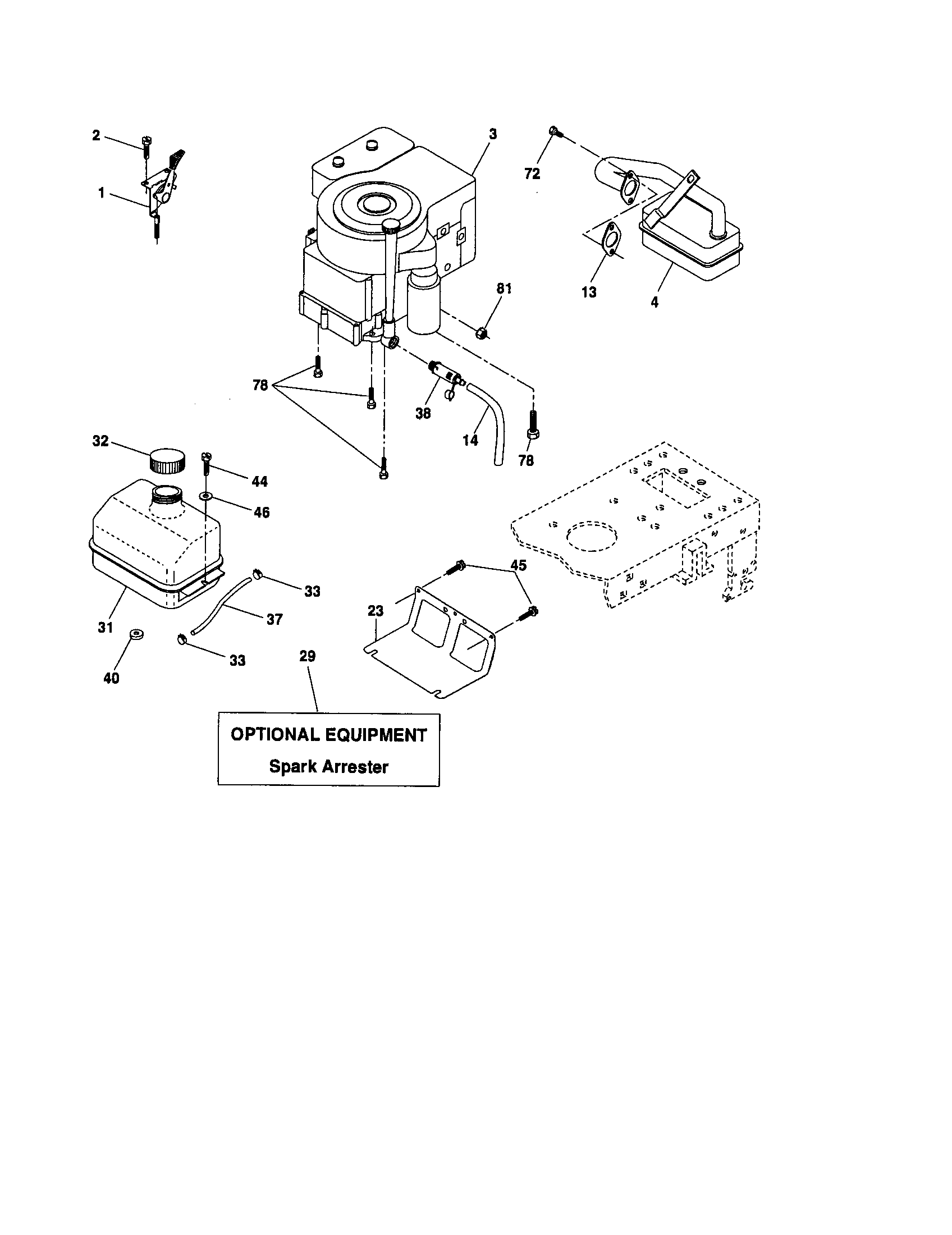 Craftsman model 917276393 lawn, tractor genuine parts