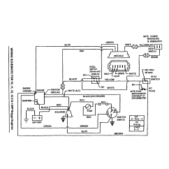 Riding Mower Wiring Diagram Ammeter Snapper Rear Engine Parts   Model 301223bve Sears Partsdirect
