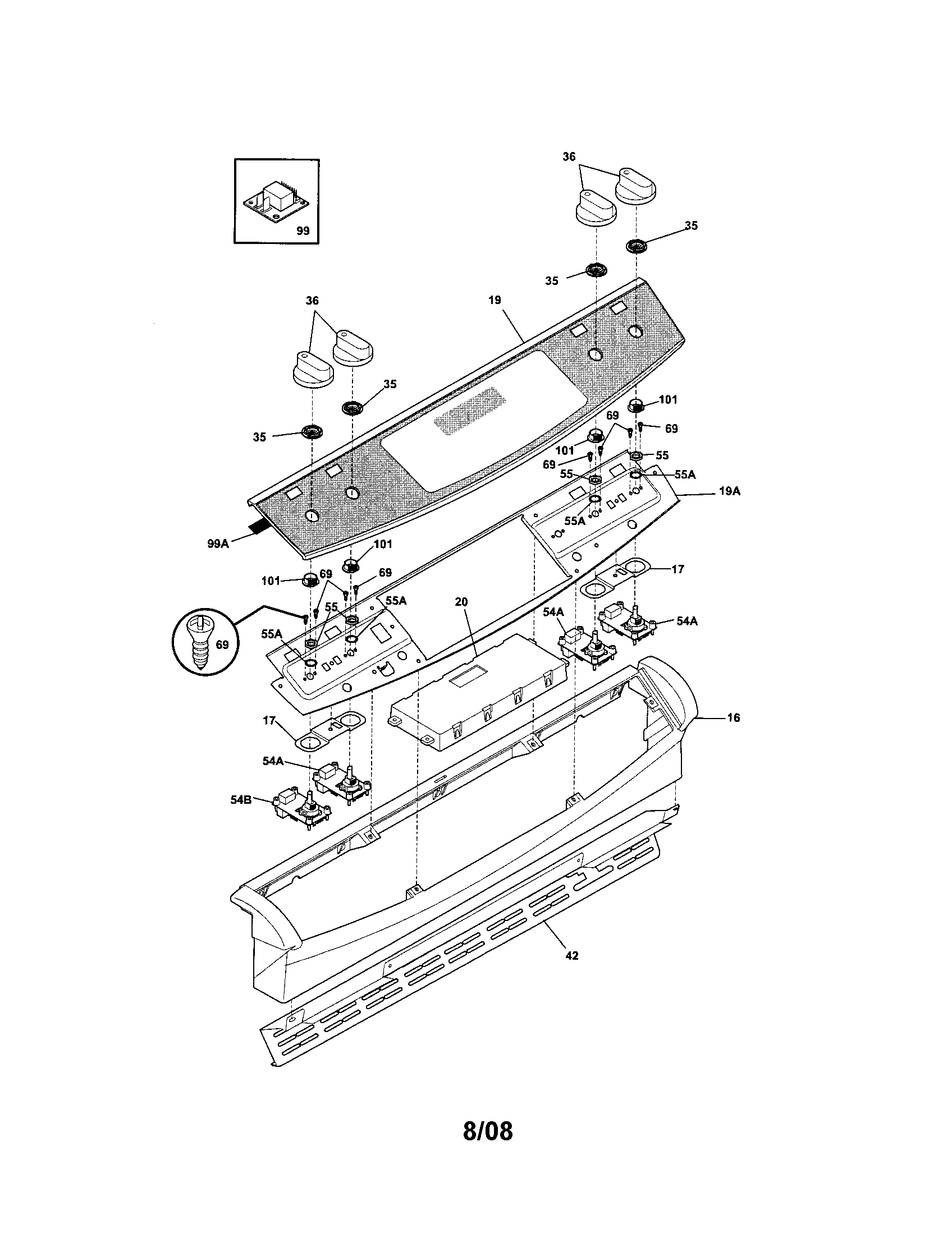Frigidaire model PLES389ECI slide-in range, electric