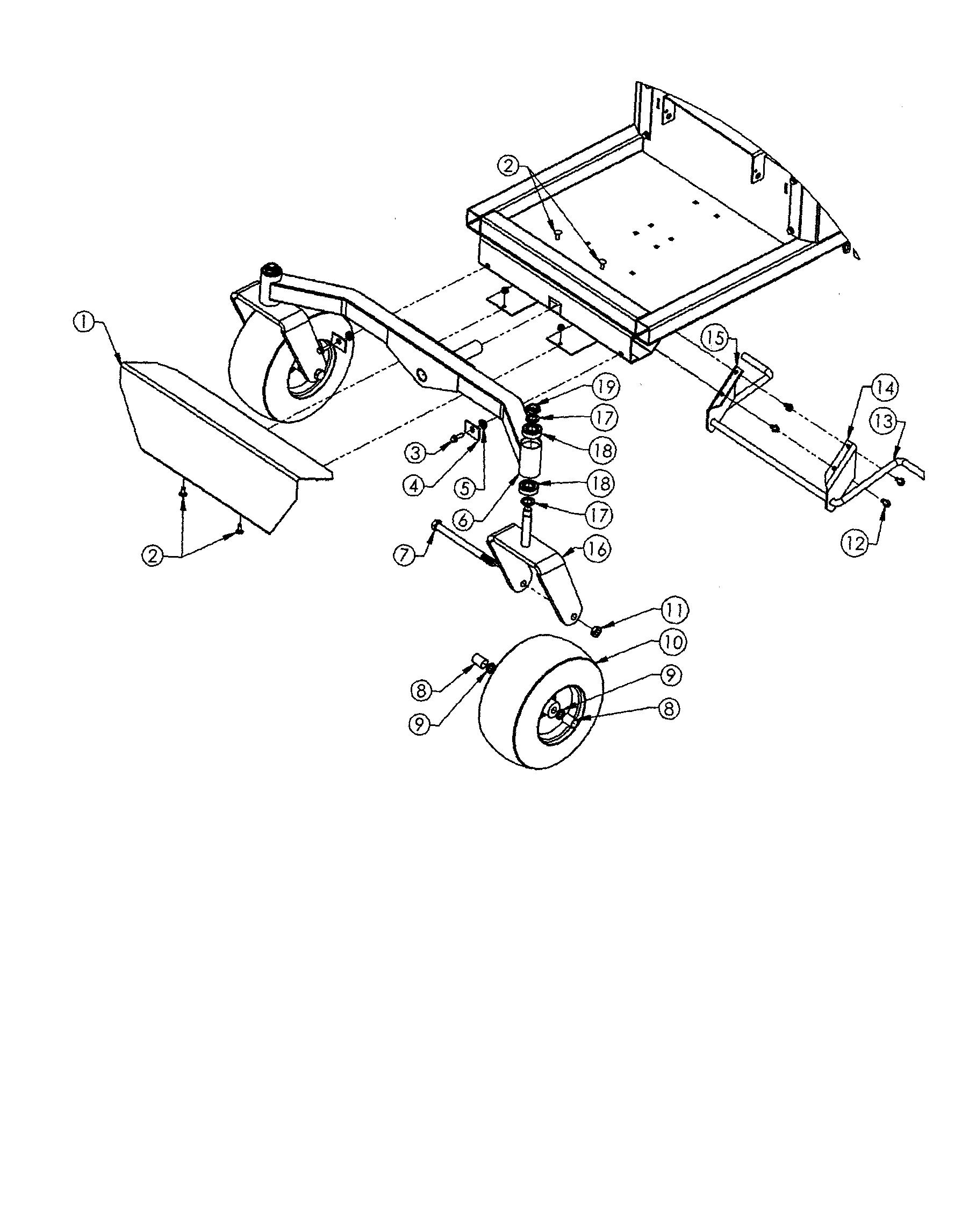 Swisher model ZT2766KZ lawn, riding mower rear engine