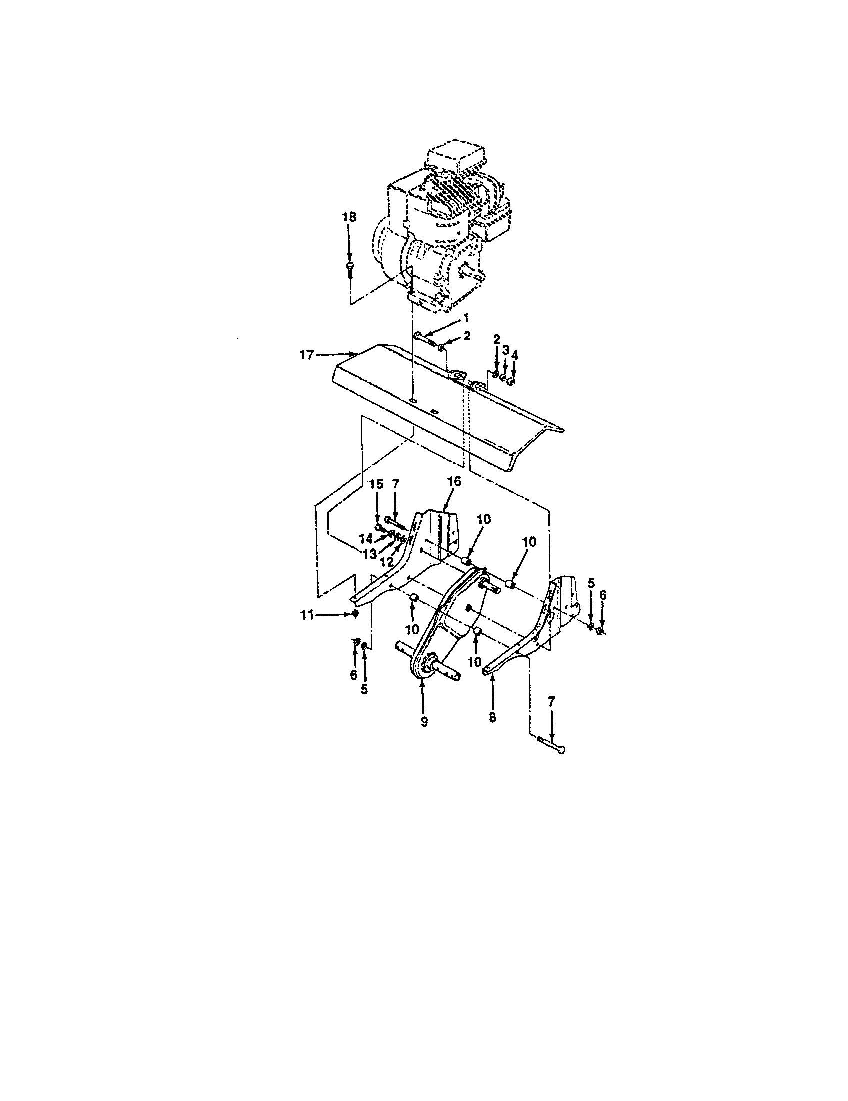 Craftsman model 917298350 front tine, gas tiller genuine parts