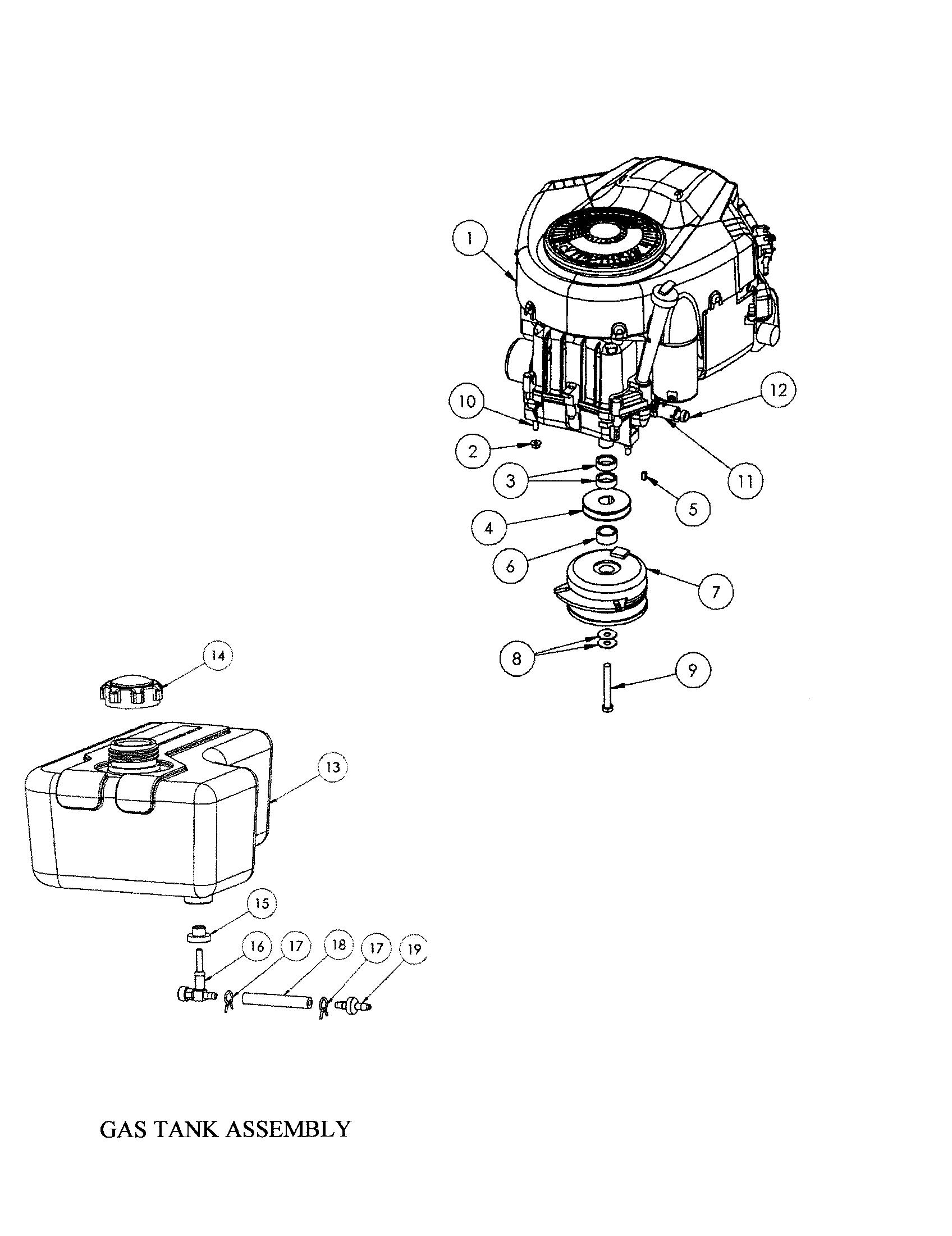 Swisher model ZT2760 lawn, riding mower rear engine