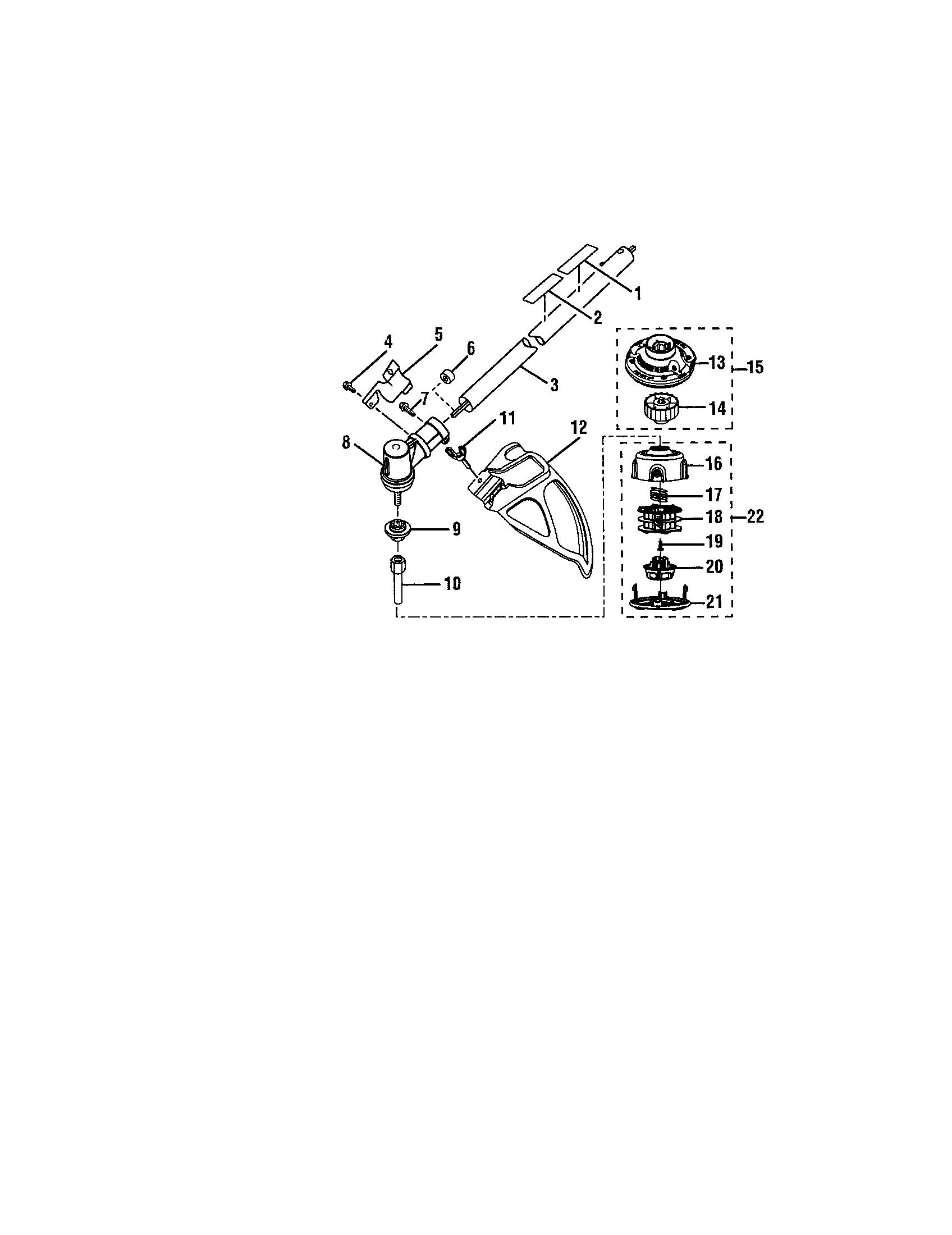 Ryobi model RY30570 line trimmers/weedwackers, gas genuine
