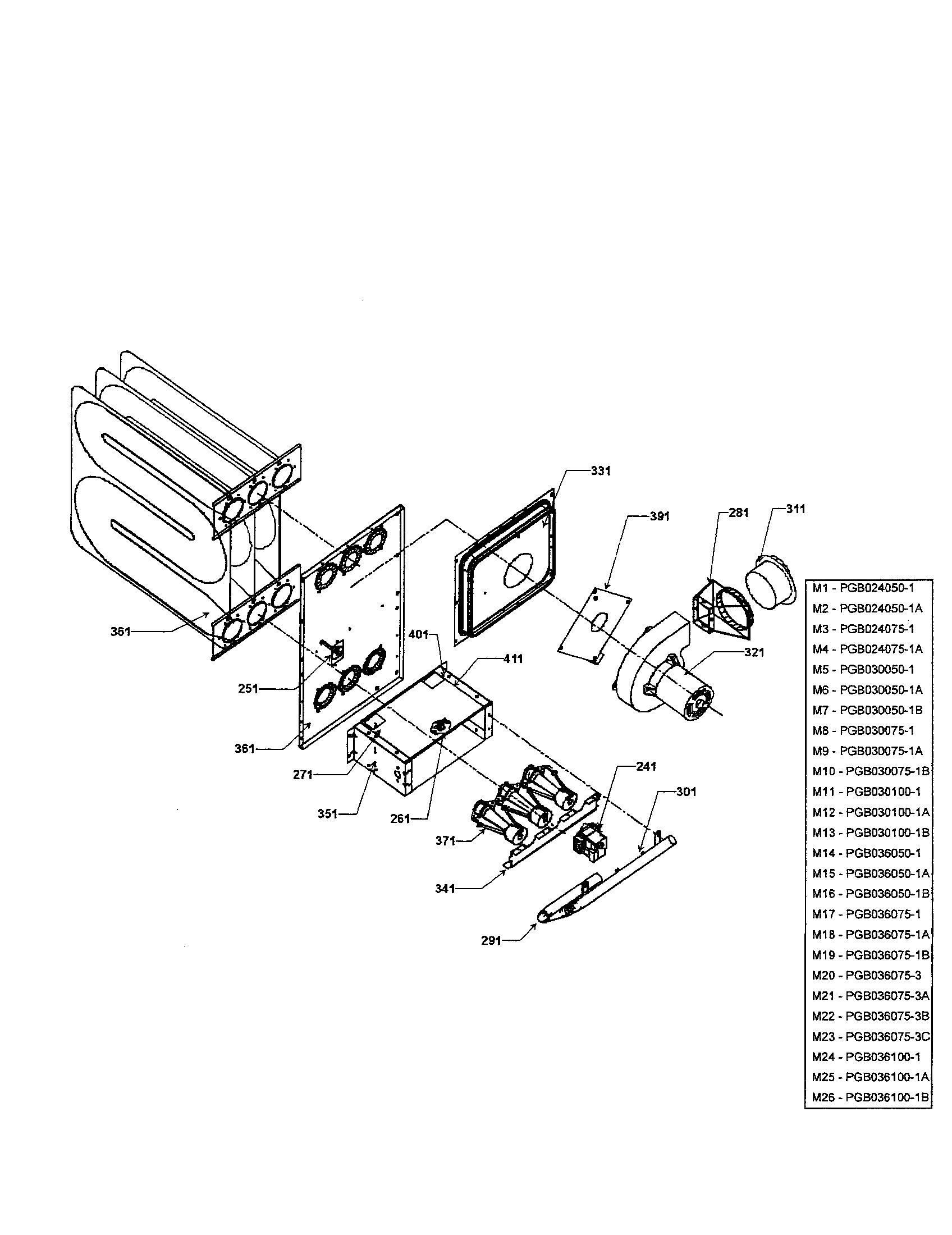 Goodman model PGB036100-1 package units(both units