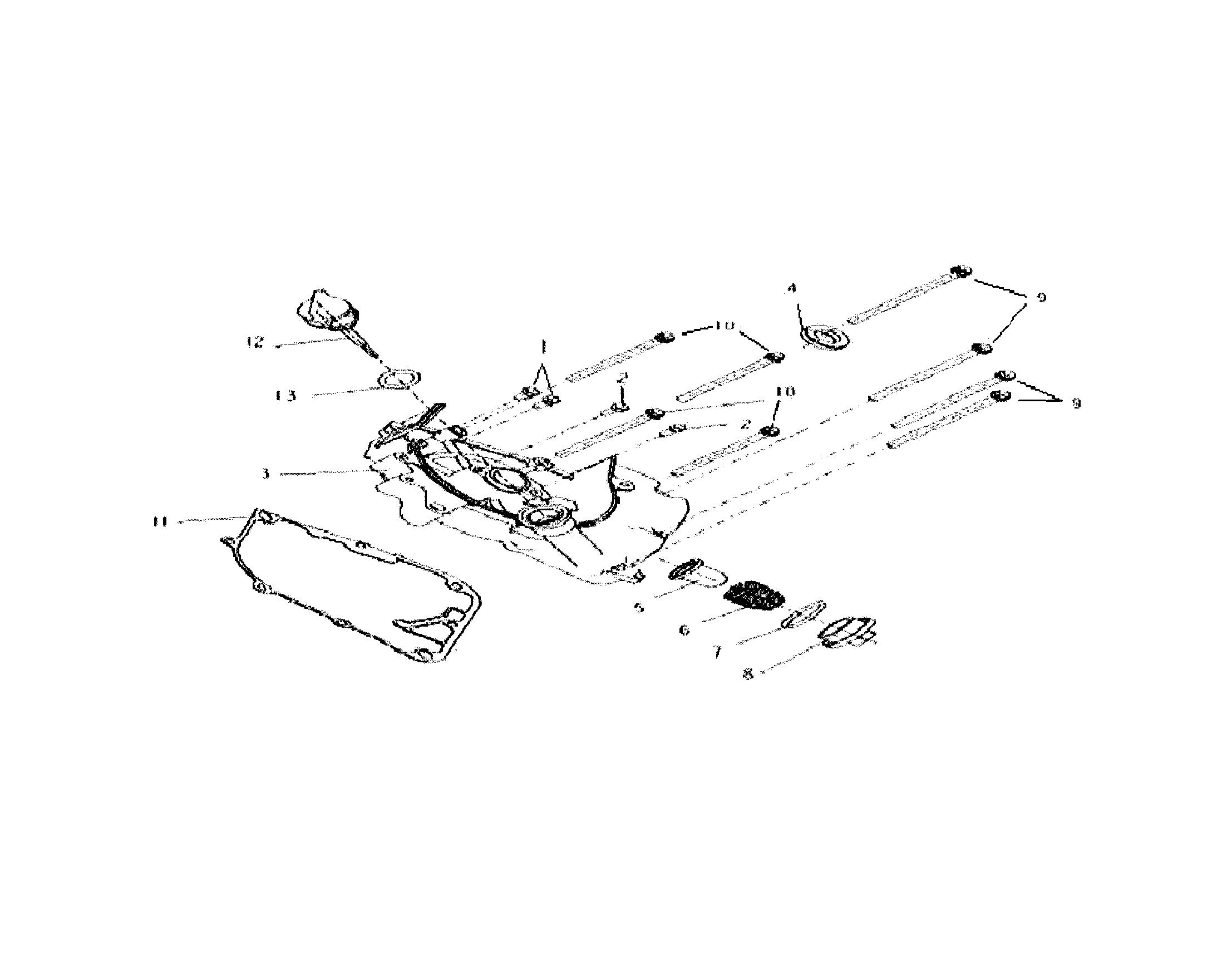 Baja model SC50 scooter genuine parts