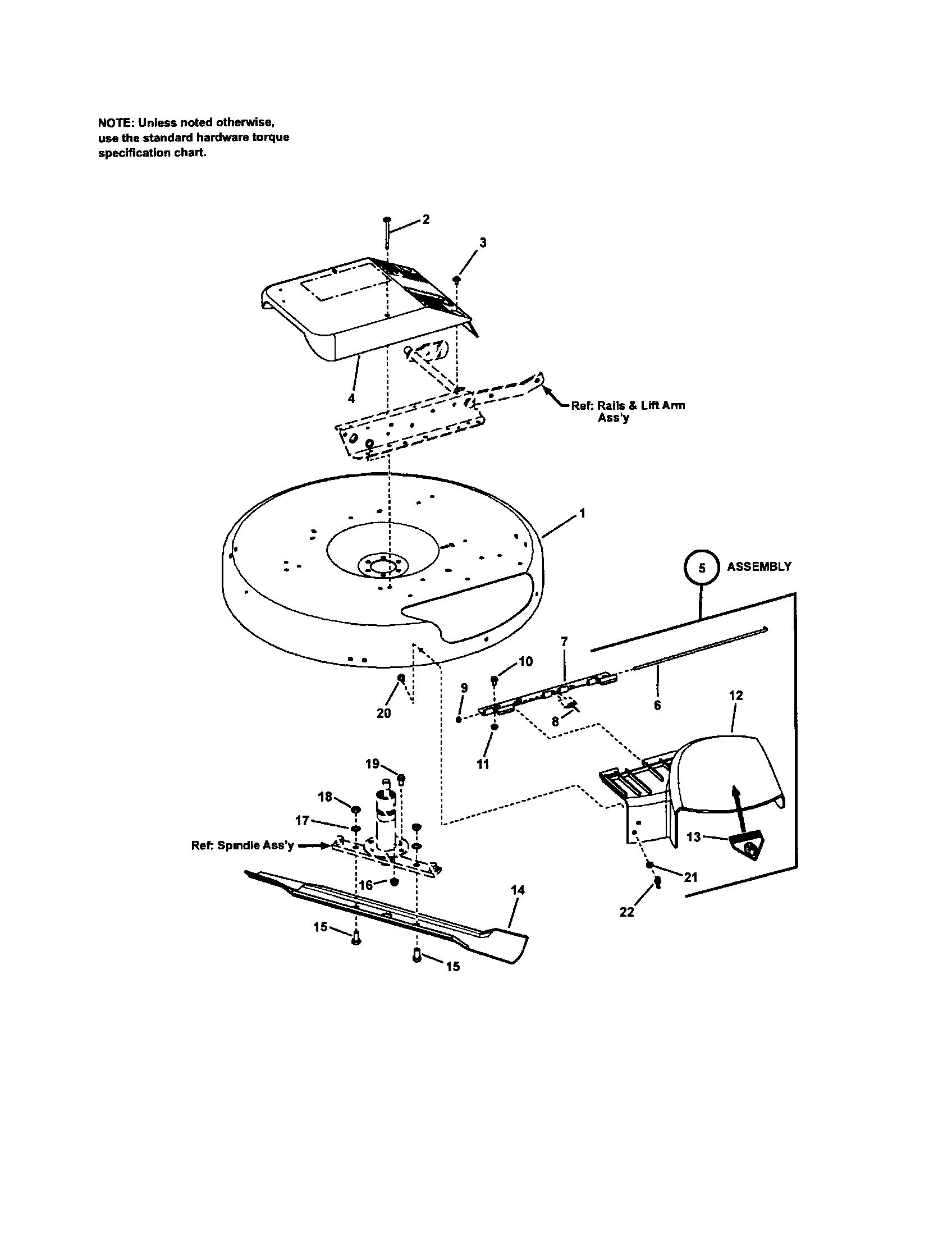 Craftsman model 107280340 lawn, riding mower rear engine