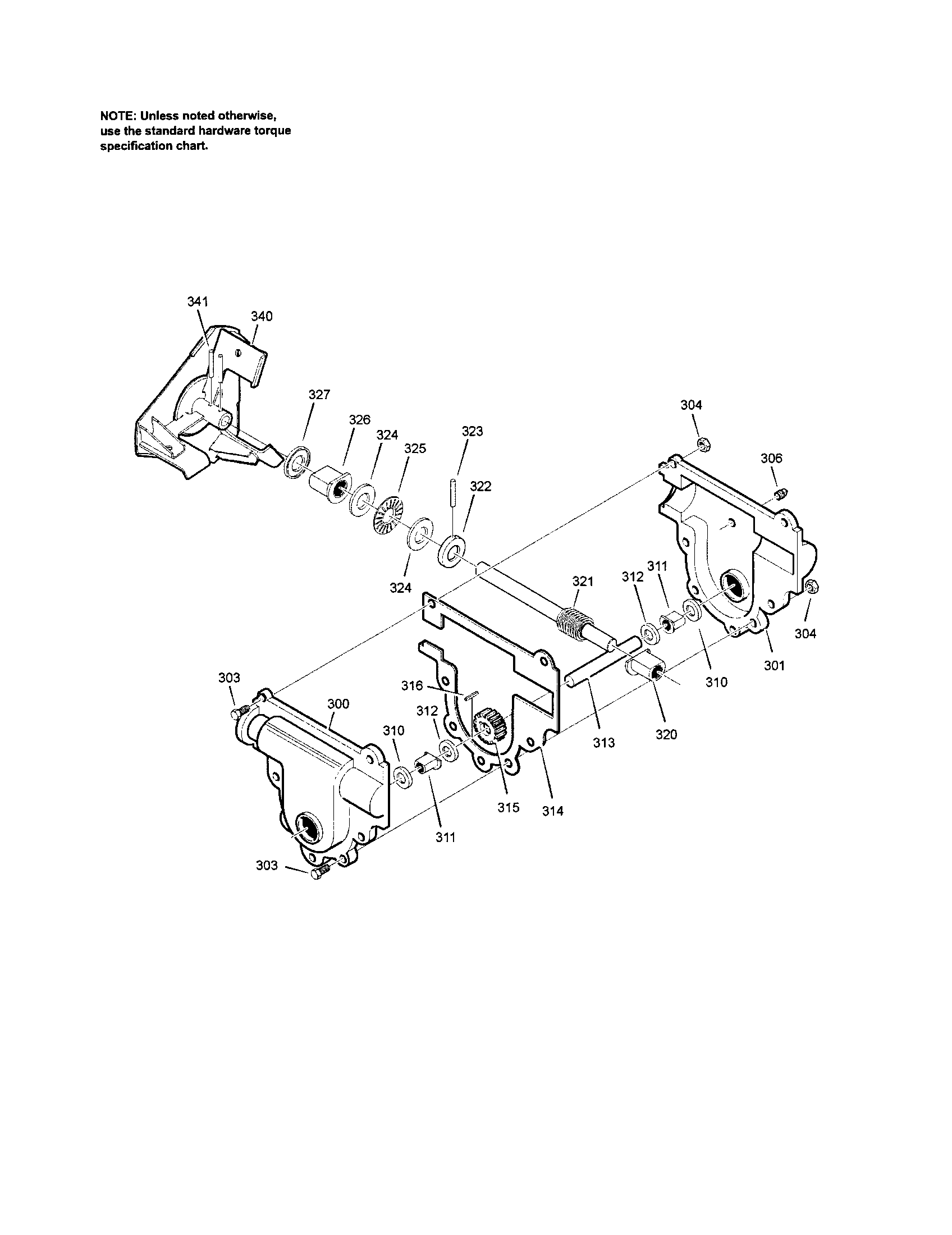 Murray model 1695539 snowthrower, gas genuine parts