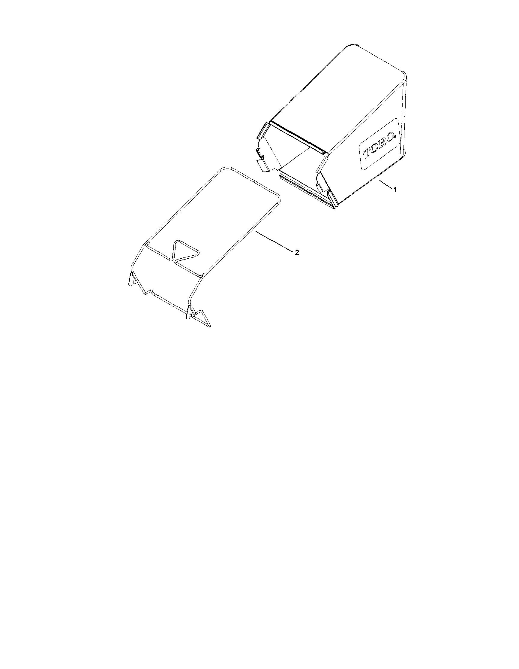 Toro model 20017 walk behind lawnmower, gas genuine parts