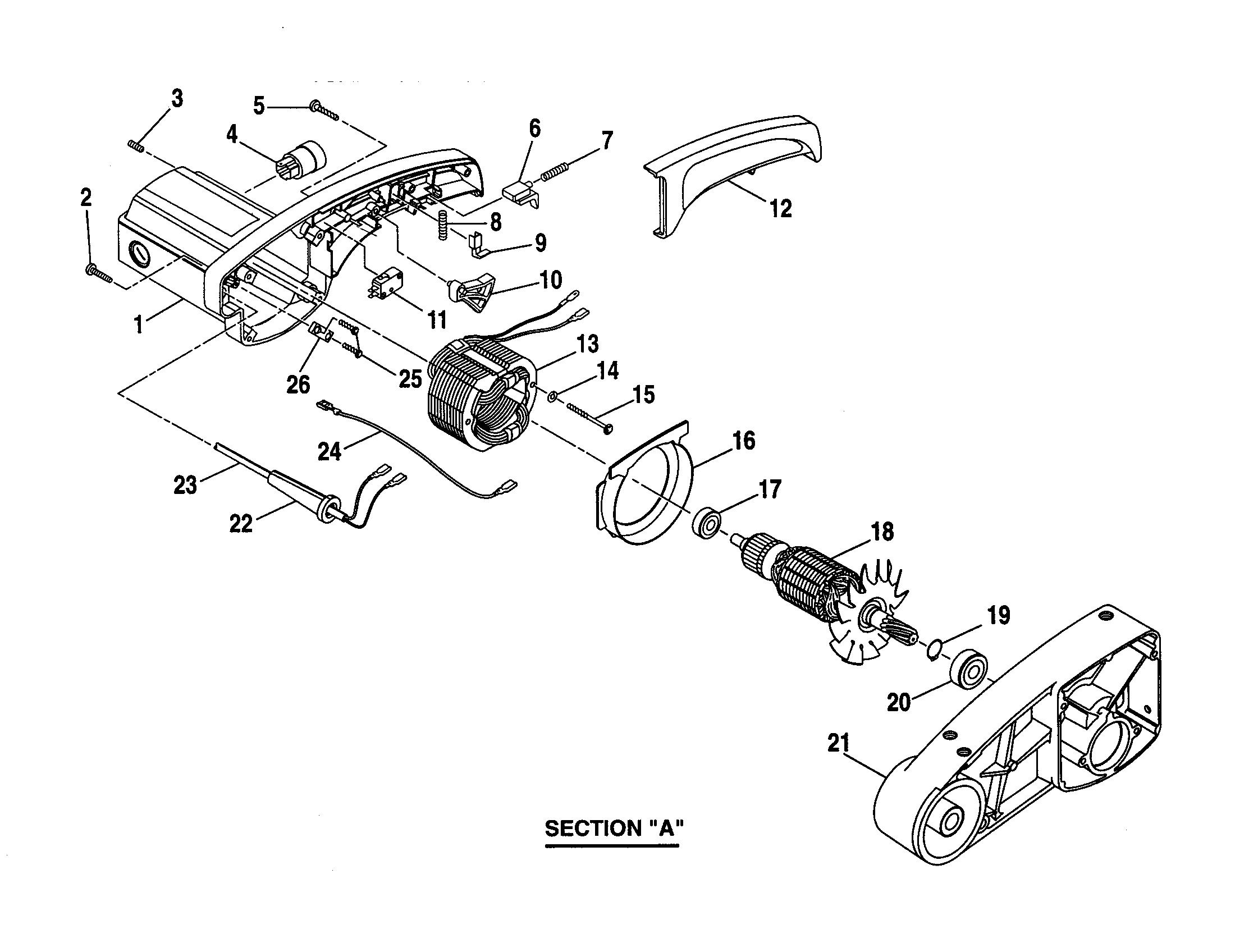 Craftsman model 315235360 miter saw genuine parts