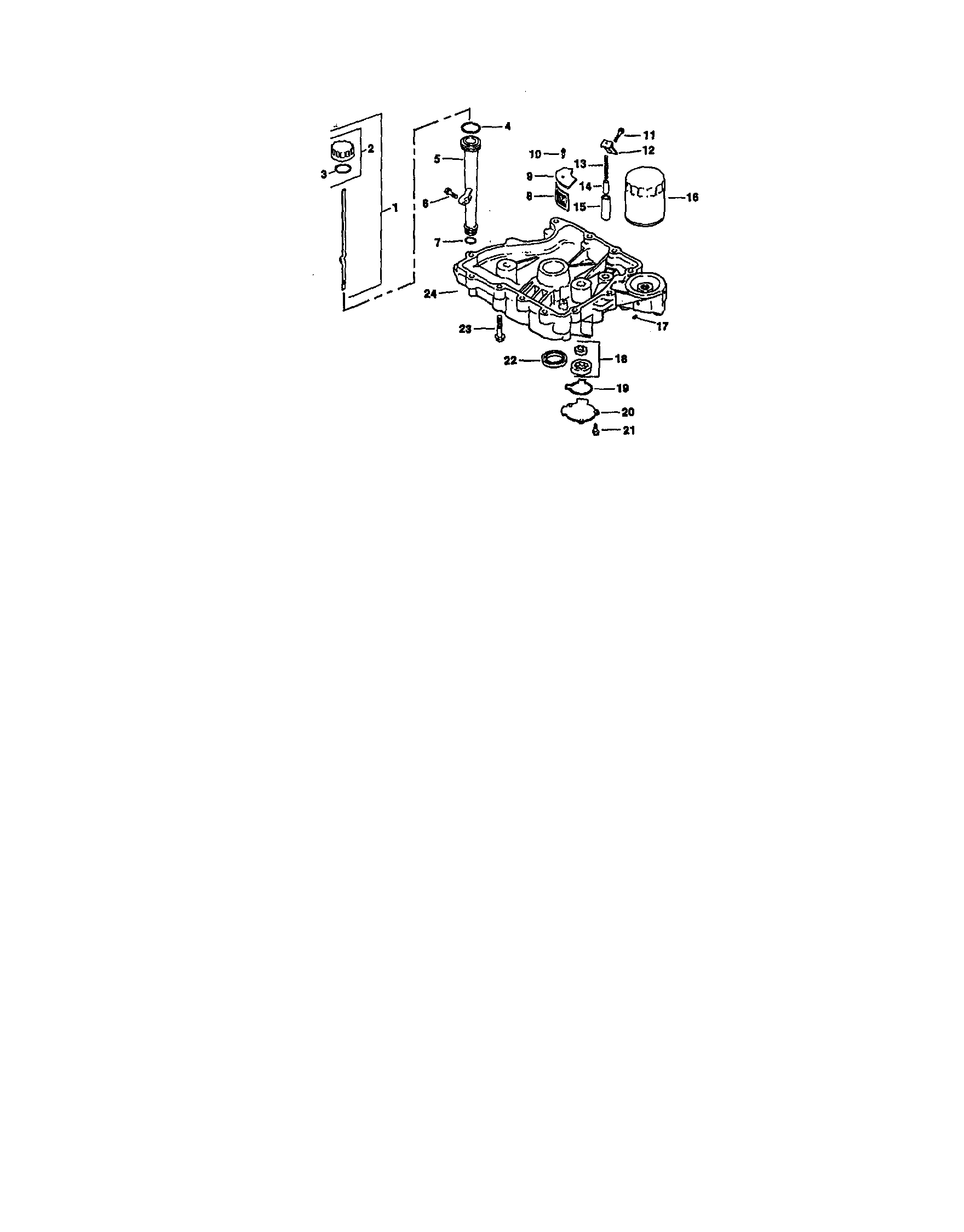 Kohler model CV15S-41567 engine genuine parts