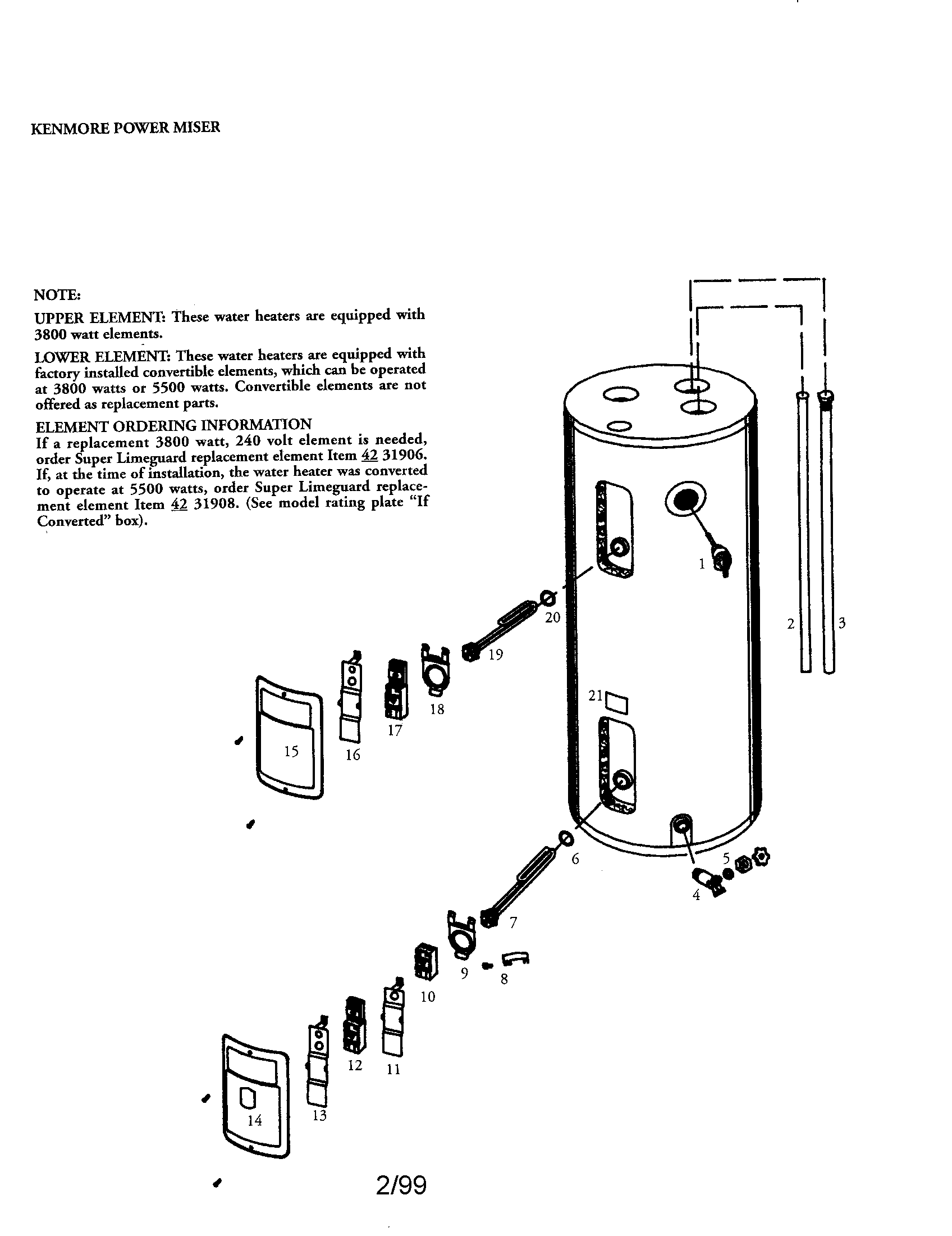 kenmore hot water heater wiring diagram ct kwh meter model 153316454 electric genuine parts no found