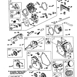 Parts List For Briggs And Stratton Engine   Reviewmotorsco