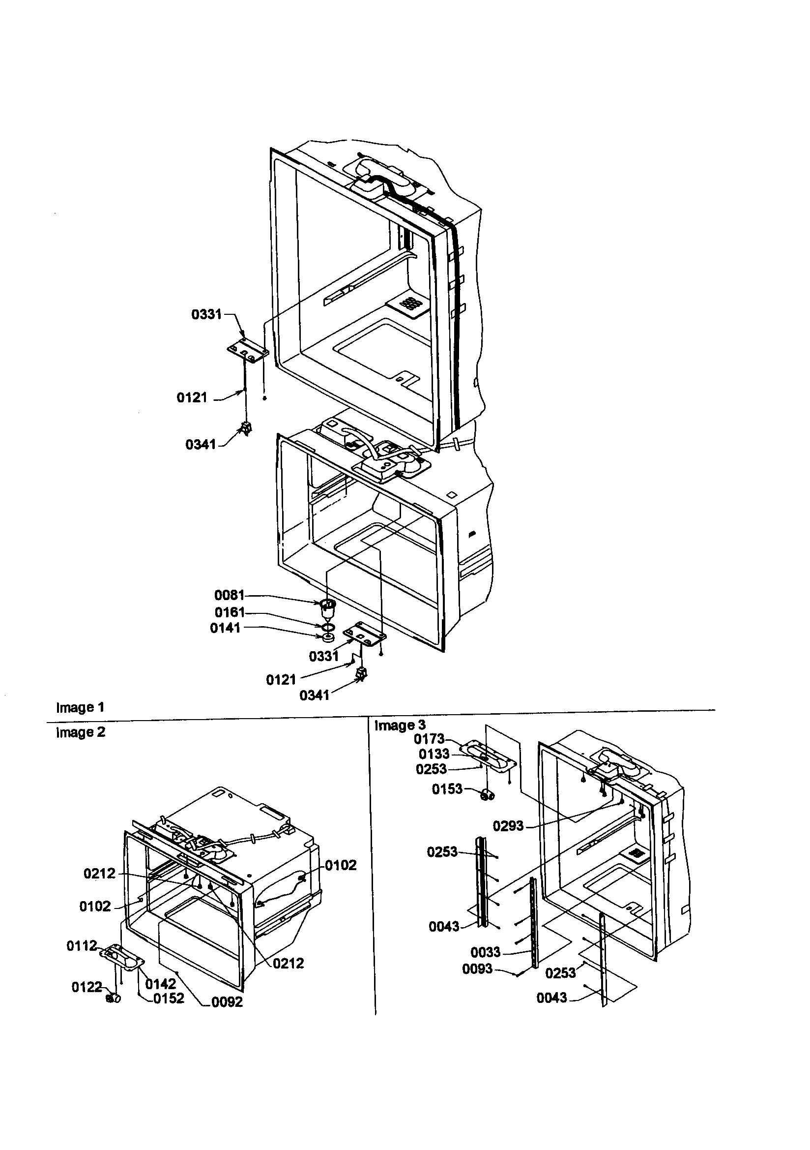 Kenmore model 59668142891 bottom-mount refrigerator