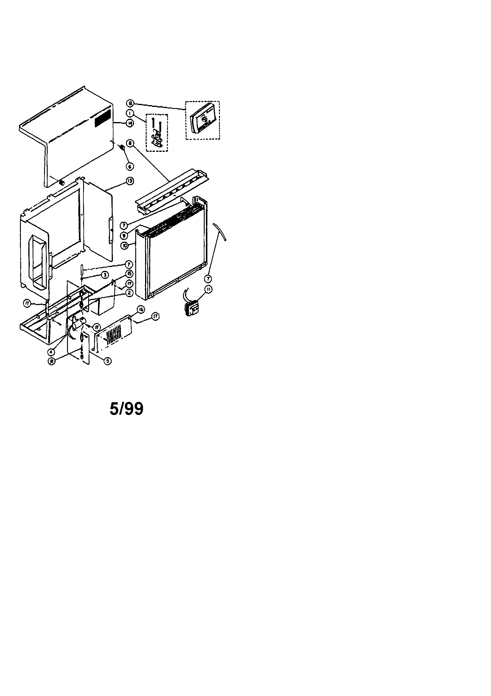 Aprilaire model 440 humidifier genuine parts