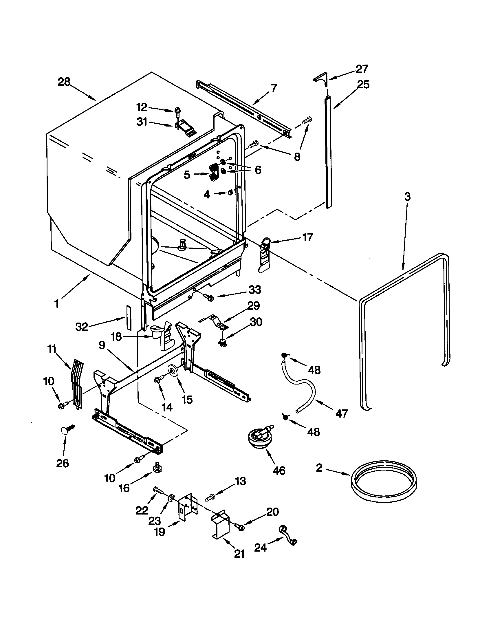 Wiring Diagram For Kitchenaid Dishwasher Wiring Diagram