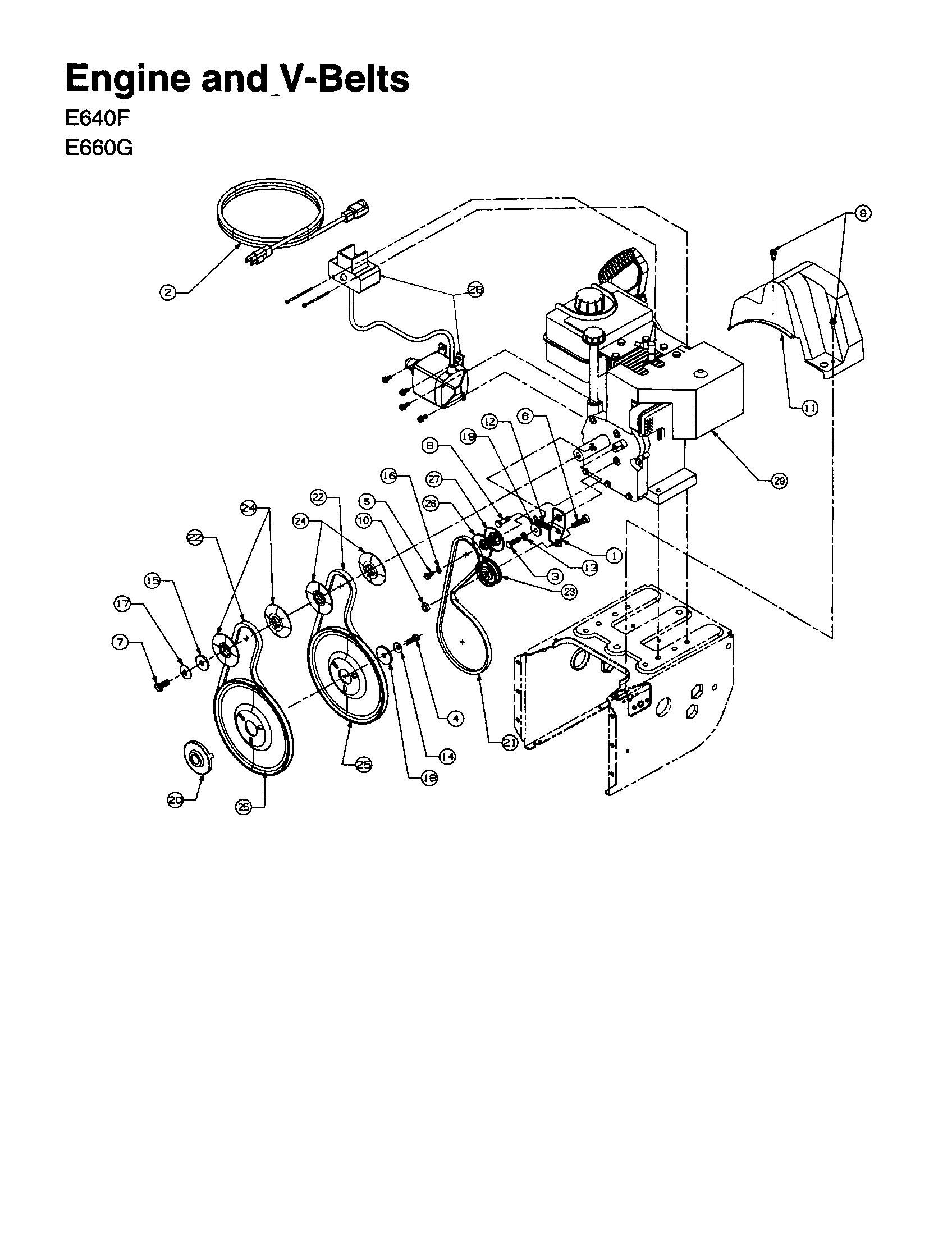 Mtd model 31AE600E020 snowthrower, gas genuine parts