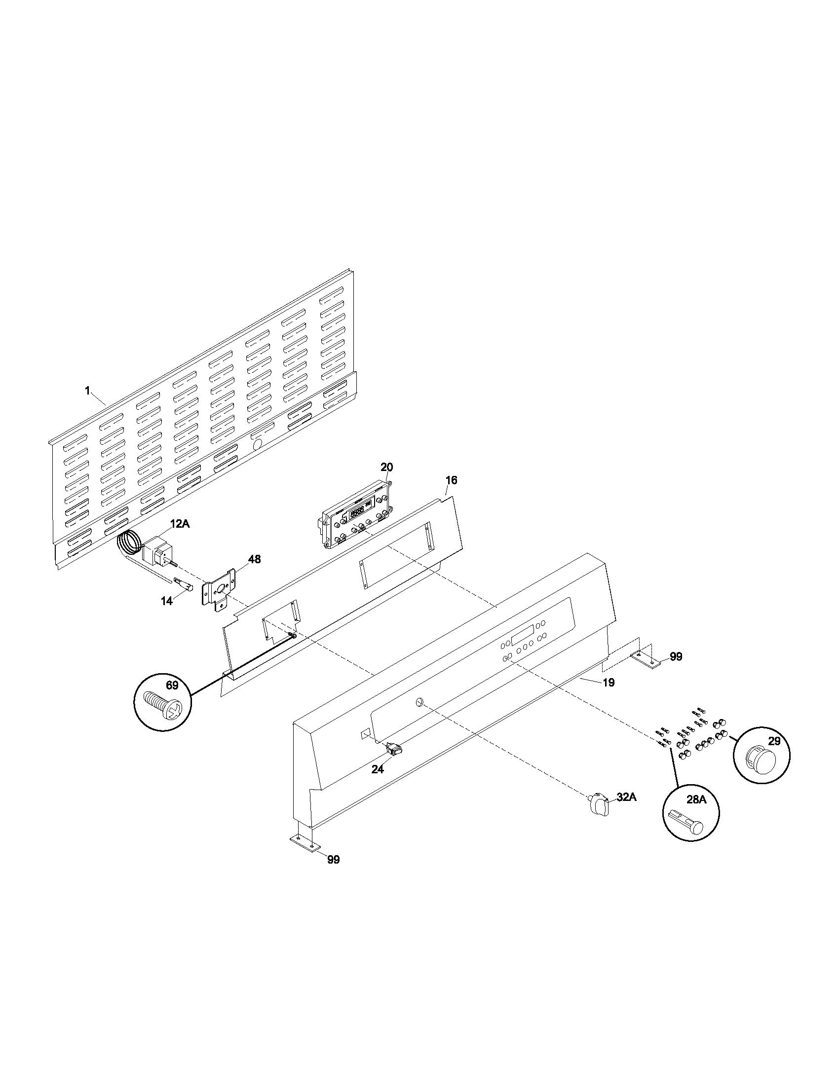 Kenmore Model 790 Electric Range Wiring Diagram, Kenmore