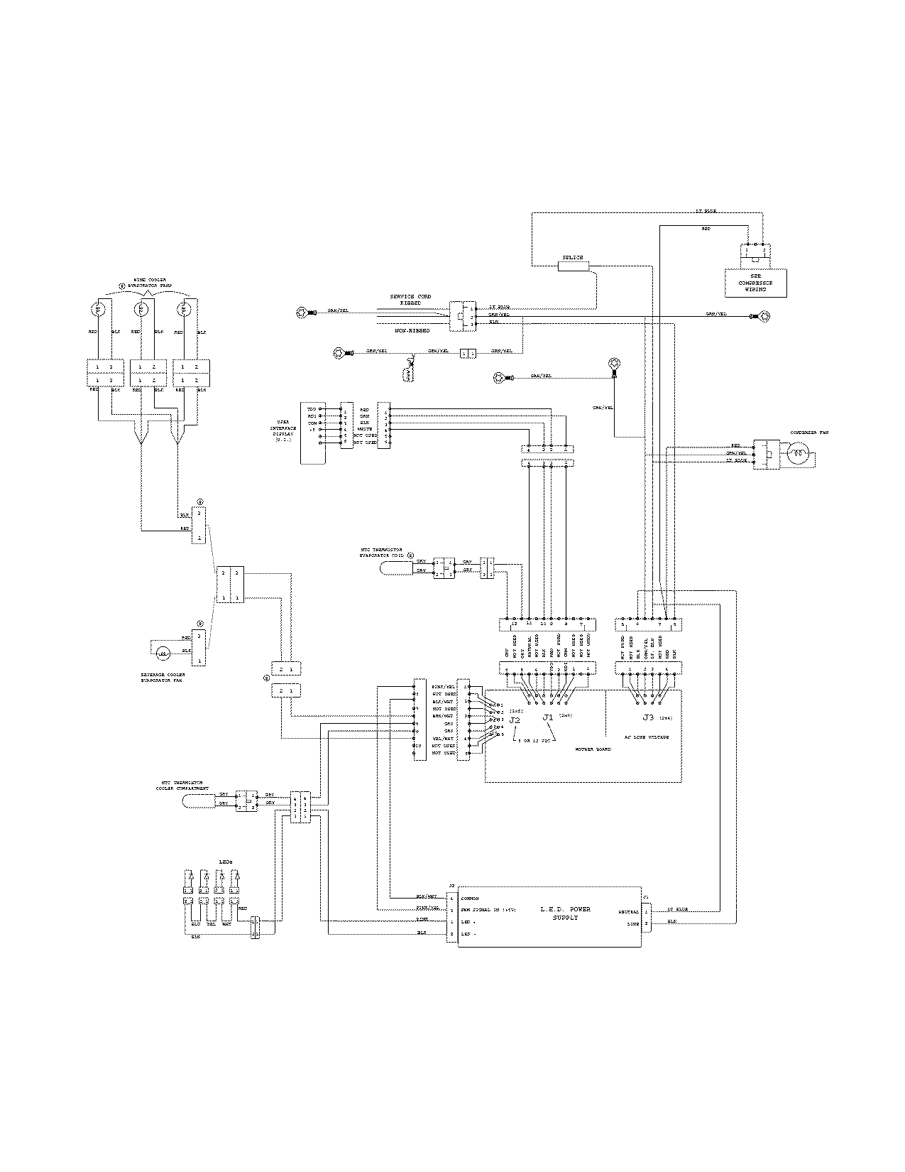 Goodman Condensing Unit Wiring Diagram Goodman Thermostat