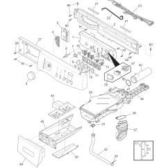 Frigidaire Front Load Washer Parts Diagram 2001 Jeep Wrangler Ac Wiring Model Fafw3574kn0 Residential Washers Genuine Control Panel