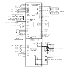 Wiring Diagram For A Electrolux 3 Way Fridge Cal Spa 2100 Refrigerator Parts Model Ei27bs26js8 Sears