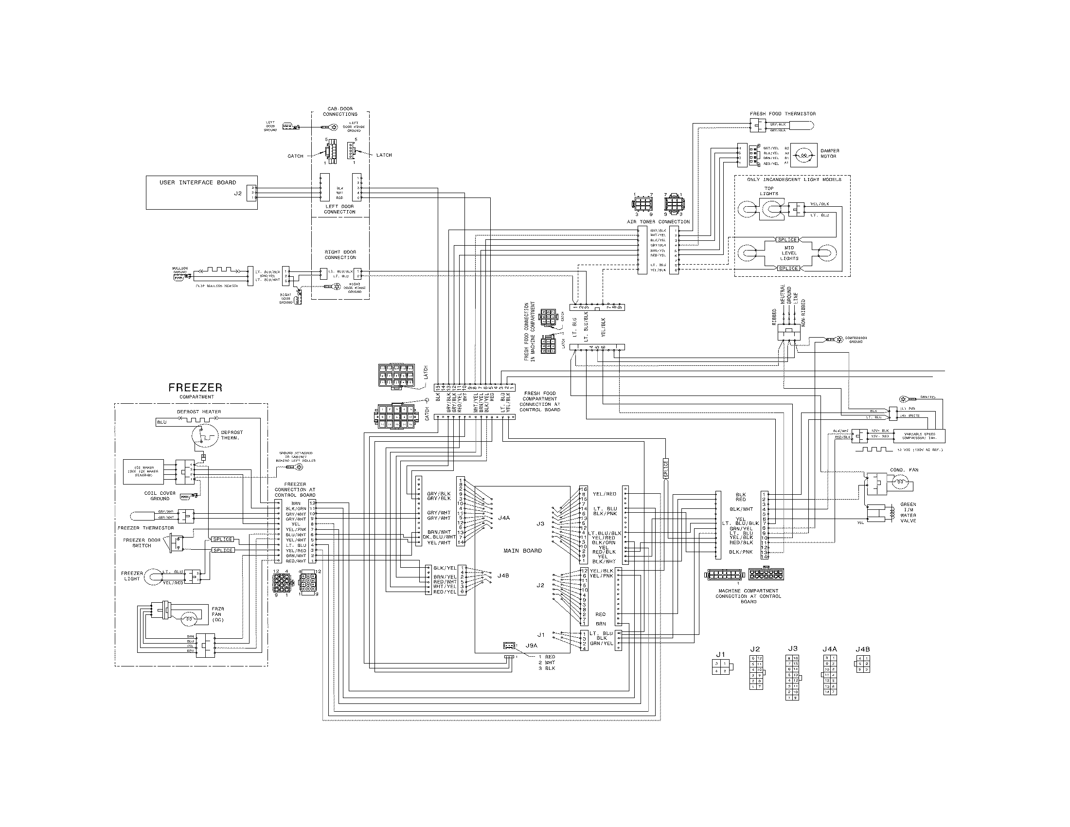 Wiring Diagram For Frigidaire Refrigerator. 301 moved