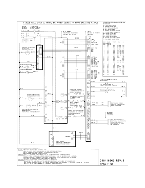 small resolution of electrolux electric oven parts model ei27ew45kw3 sears electric oven wiring diagram wiring diagram for electric wall