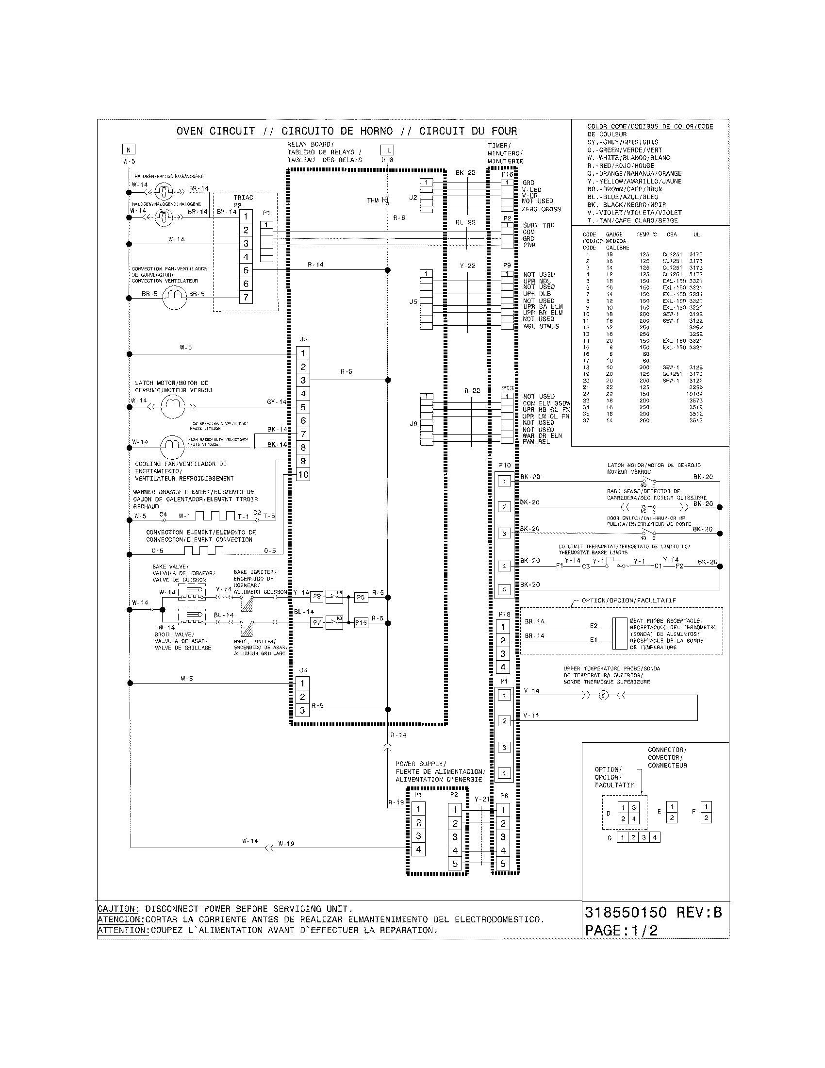 electrolux wiring diagram friedland door chimes model ew30gs75ksd slide in range gas genuine parts