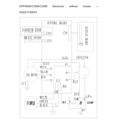 frigidaire model fra064at721 air conditioner room genuine parts on frigidaire air conditioner not cooling wiring diagram  [ 1700 x 2200 Pixel ]