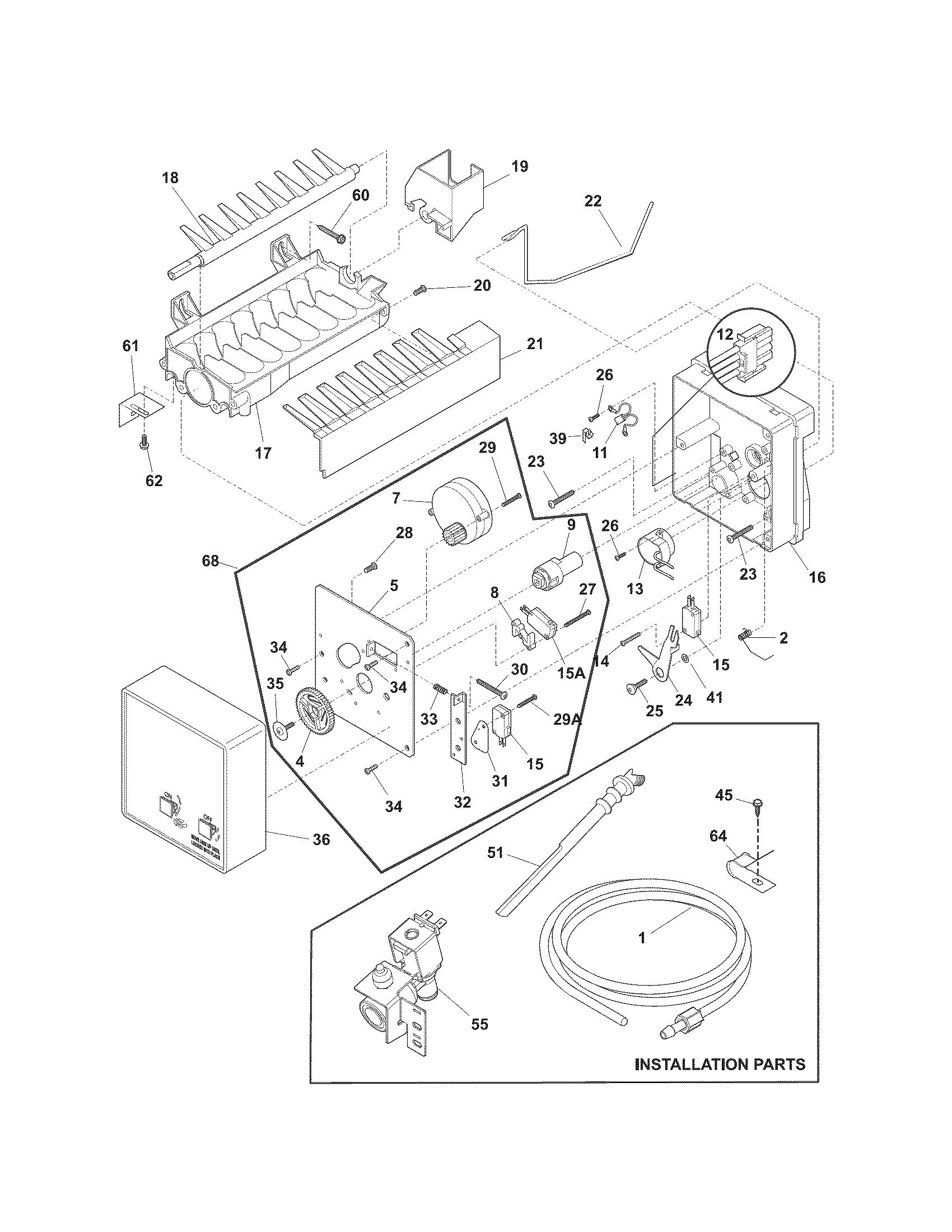 wiring diagram for kenmore ice maker wiring diagram