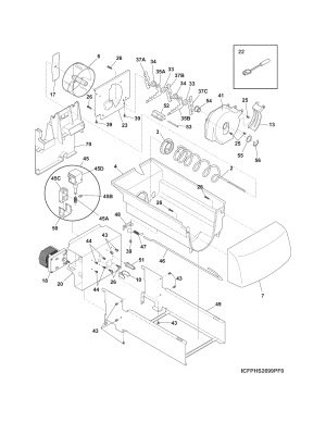 FRIGIDAIRE REFRIGERATOR Parts | Model fghs2355pf4 | Sears