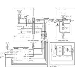 Refrigerator Wiring Diagram Whirlpool Parts Of A Plot Kenmore Model 25370303411 Sears