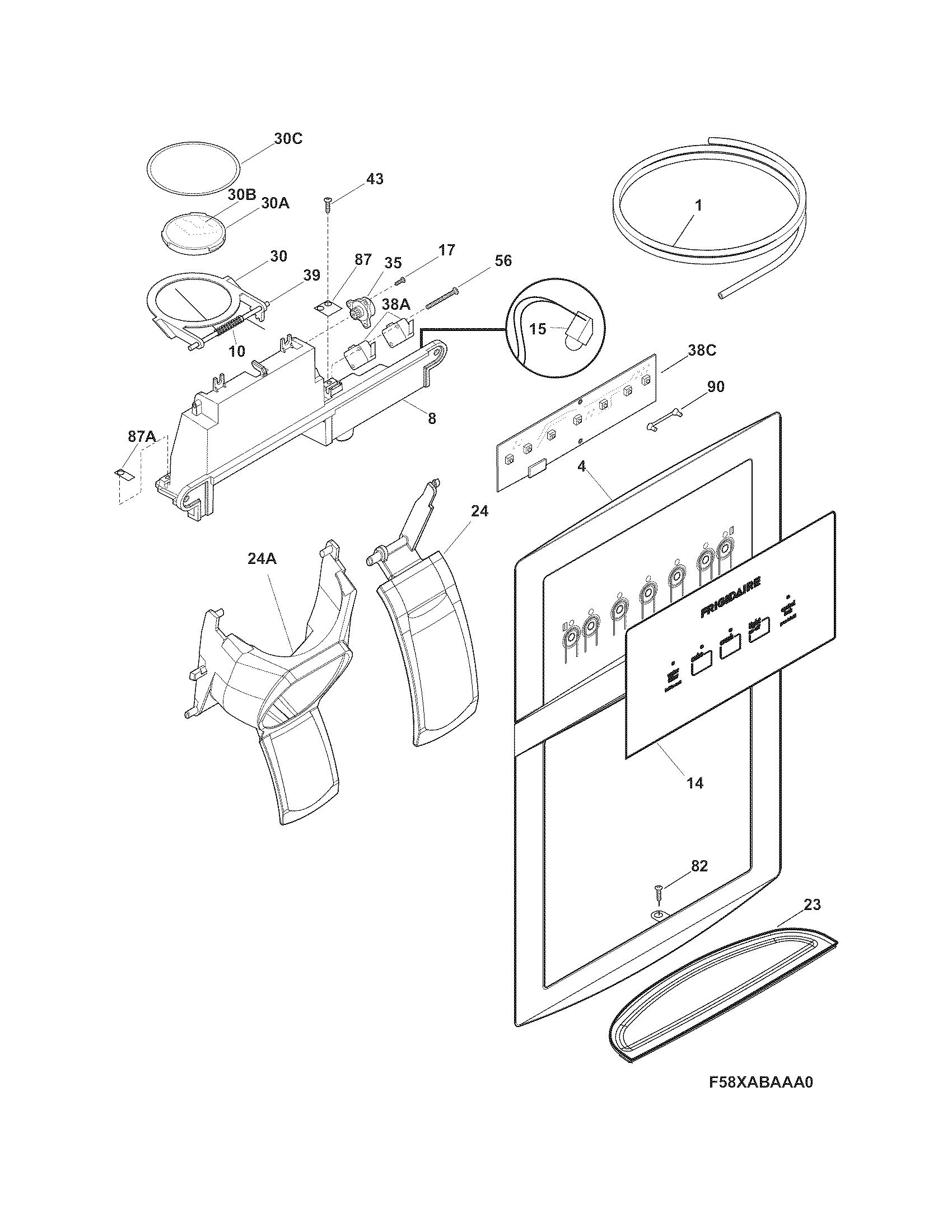 wiring diagram of water dispenser