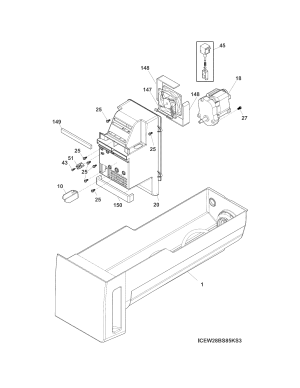 FRIGIDAIRE REFRIGERATOR Parts | Model fpbs2777rf0 | Sears
