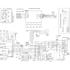 Frigidaire Wiring Diagram Swm 8 Way Splitter Refrigerator Parts Model Ffhs2322msja Sears