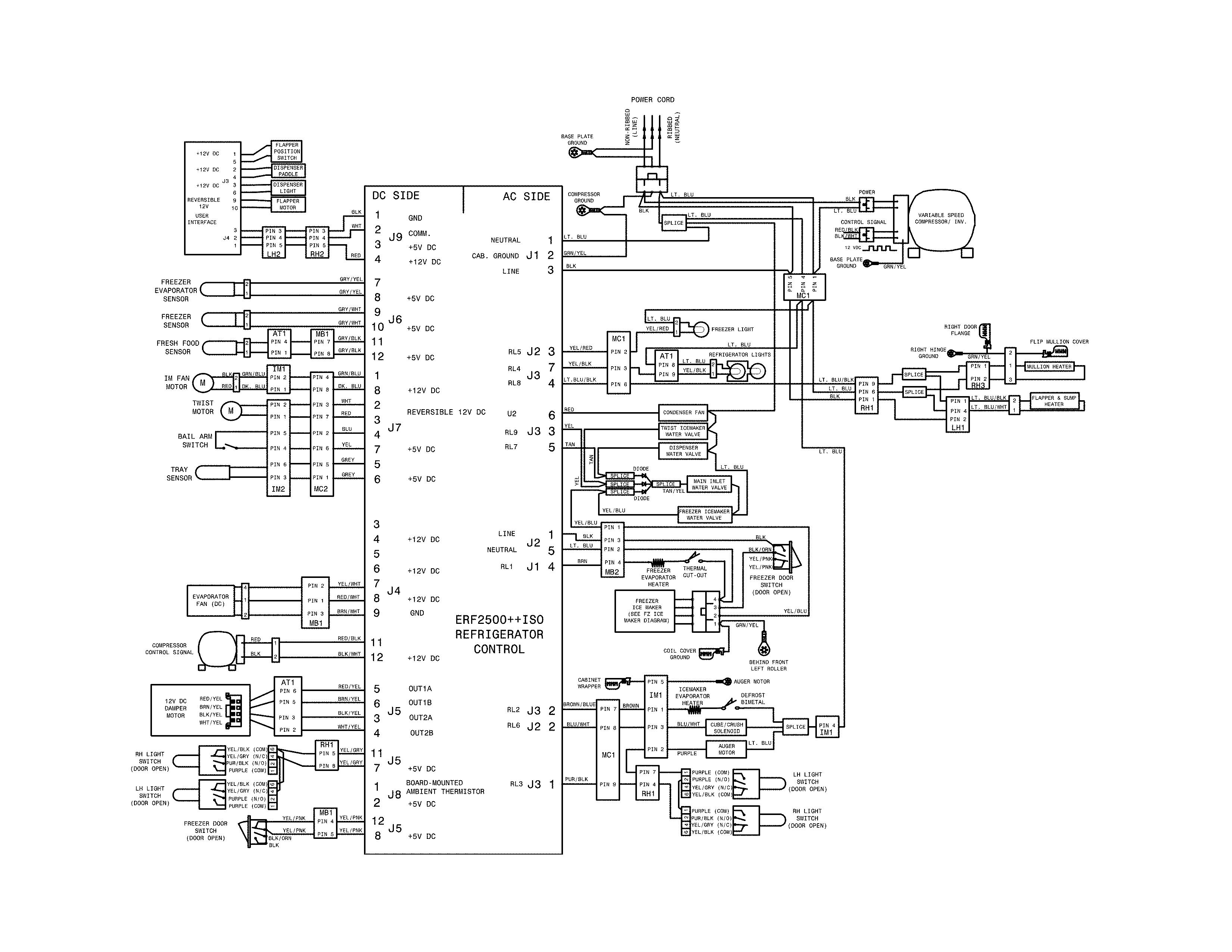 Frigidaire model FFHB2740PEBA bottom-mount refrigerator