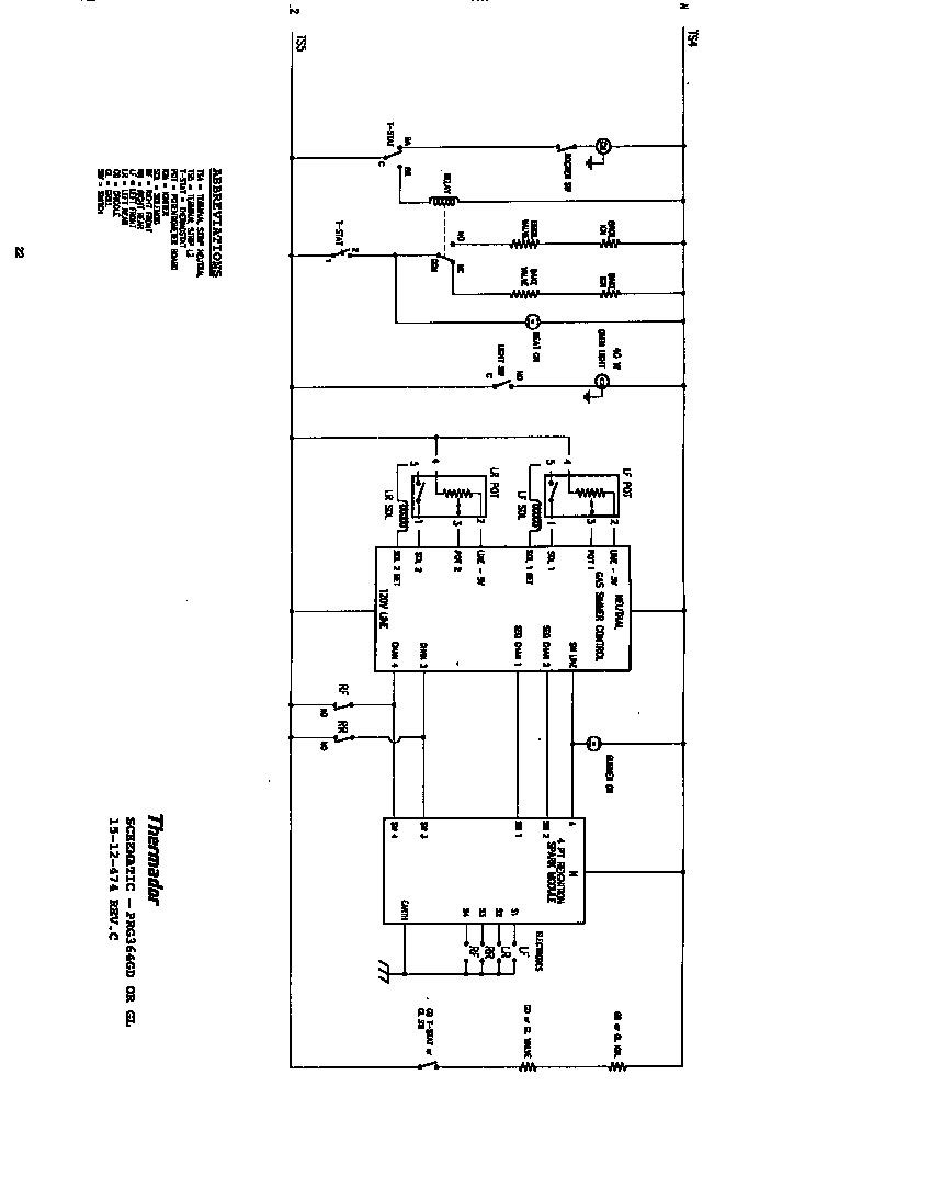 Thermador Wiring Schematic. Wire Schematics, Tube Amp