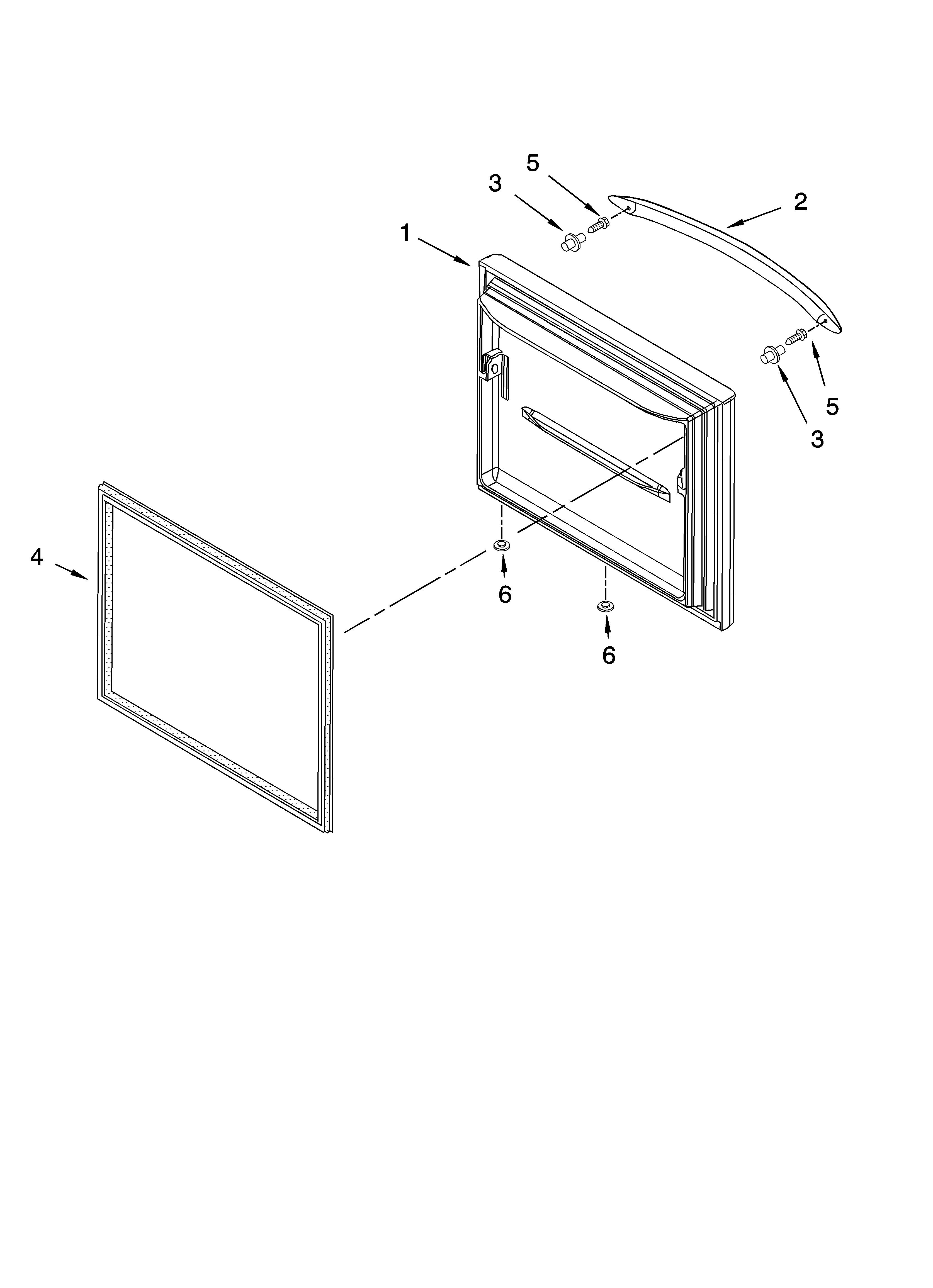 Kitchenaid model KBFS20ETSS01 bottom-mount refrigerator