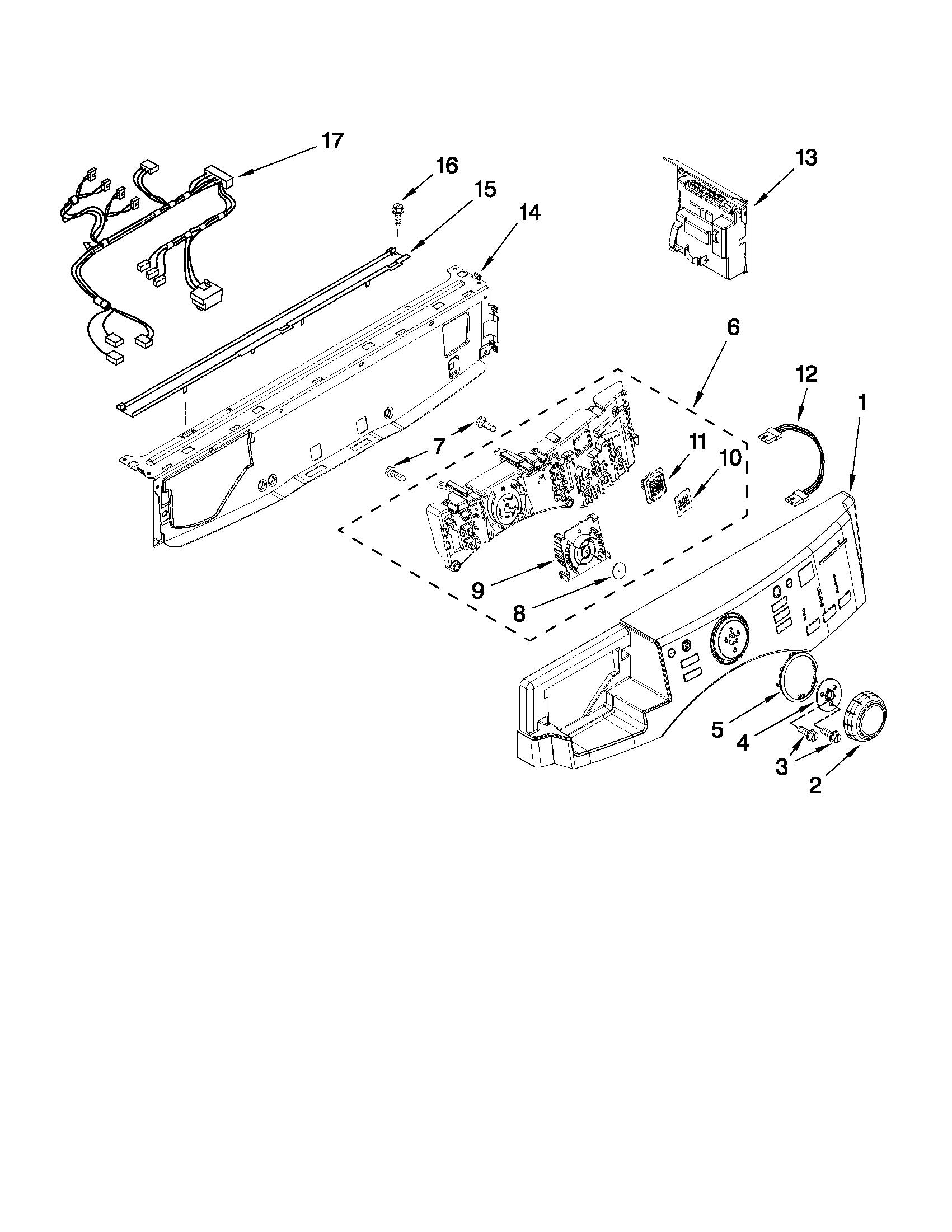 Maytag model MHWE950WW02 residential washers genuine parts