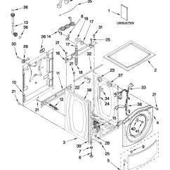 Whirlpool Washer Parts Diagram Wiring Warn Winch Remote Model Wfw9150ww01 Residential Washers Genuine